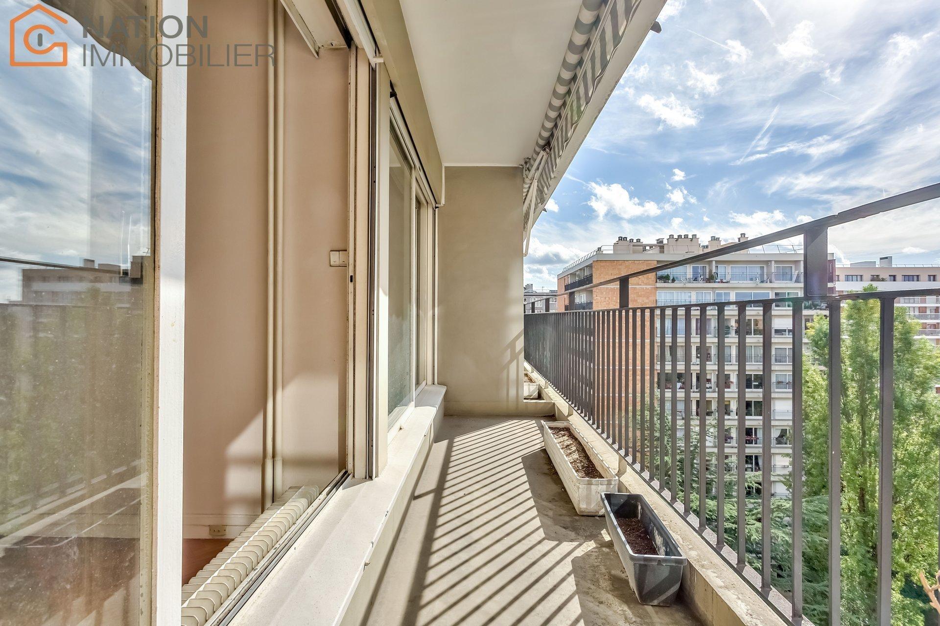 4 pièces balcon et parking