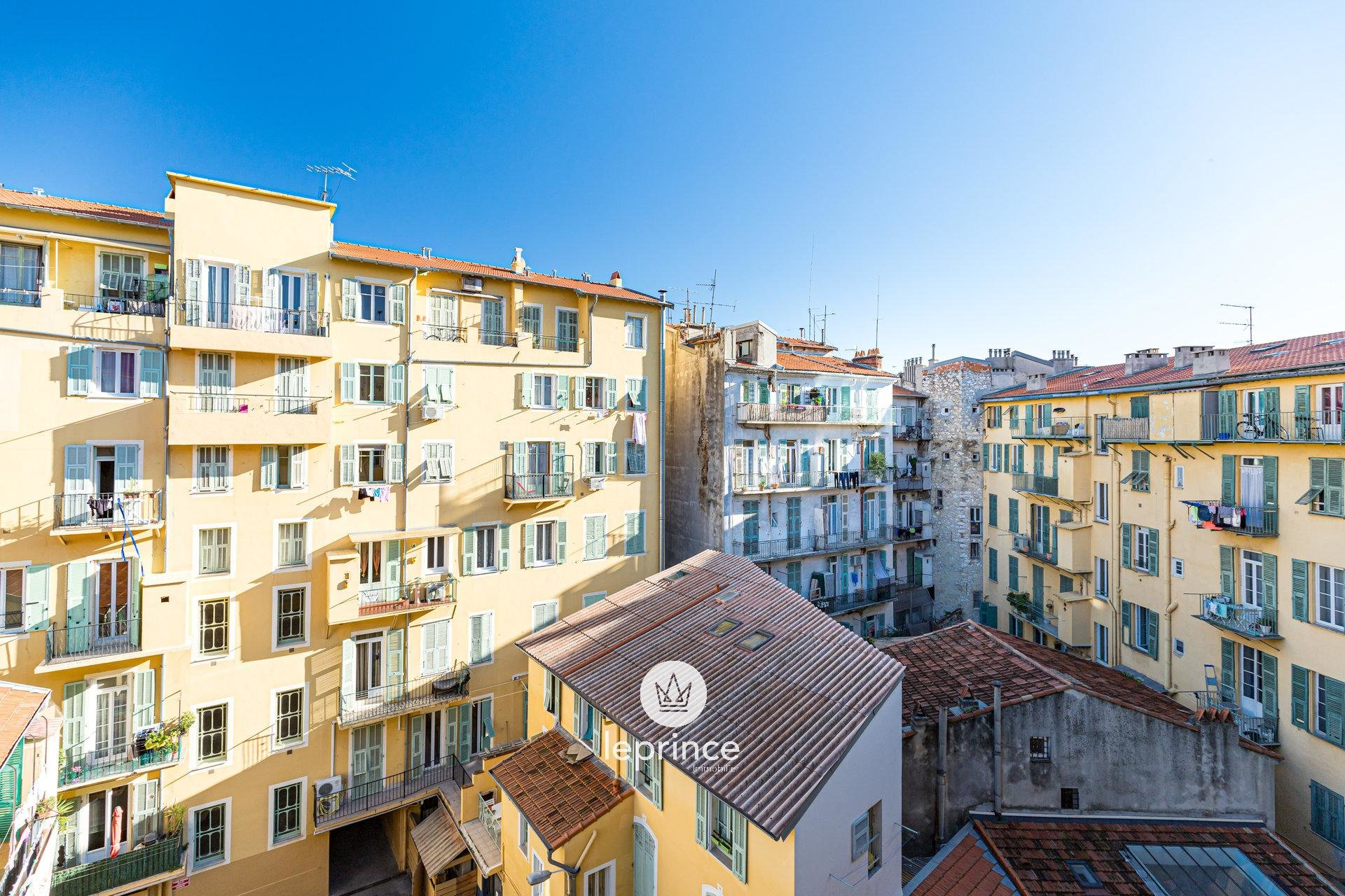 Nice Place du Pin / The Port - One bedroom Balconny