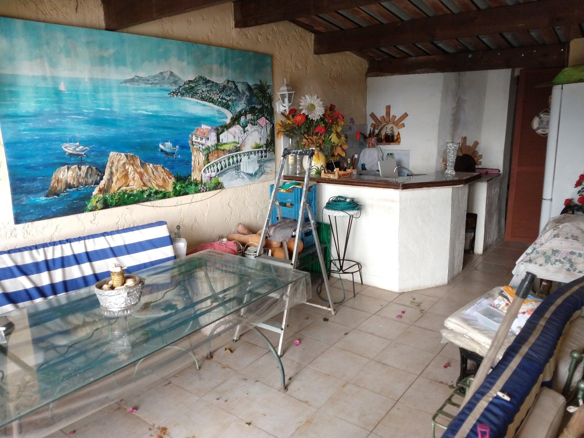 villa vue mer, de 5 pièces avec piscine