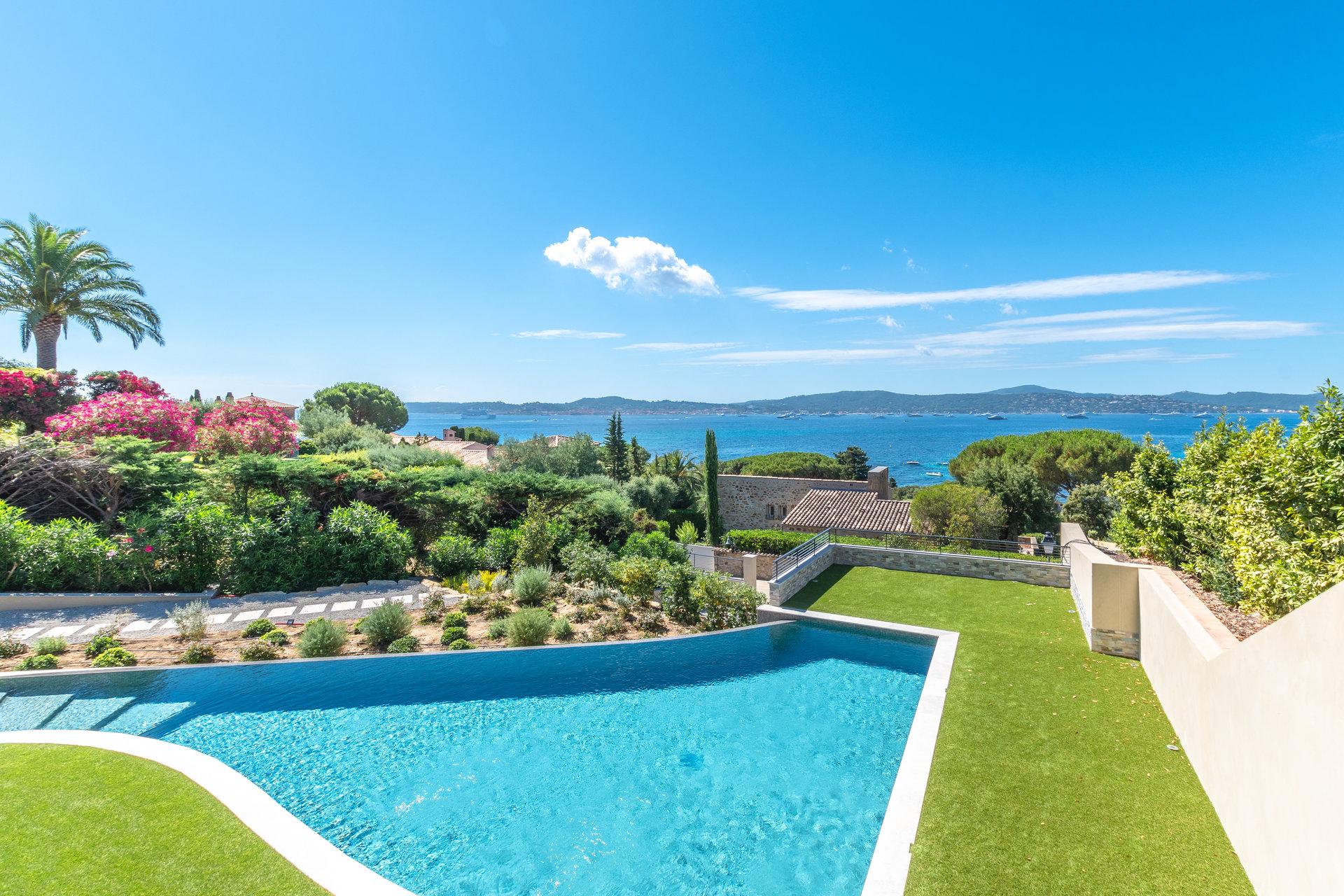 Superbe vue mer pour cette villa de 320 m²