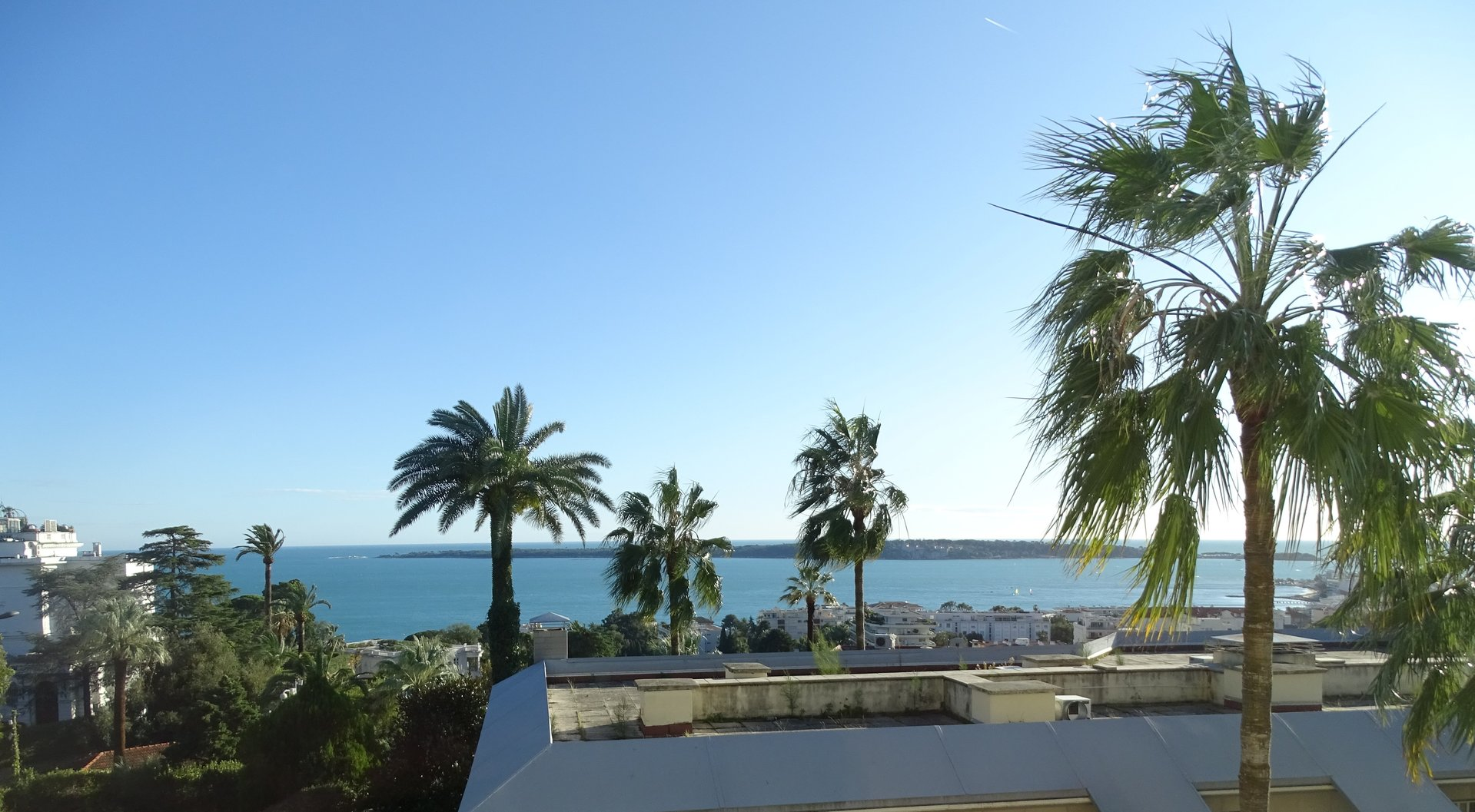 Cannes Californie sea view