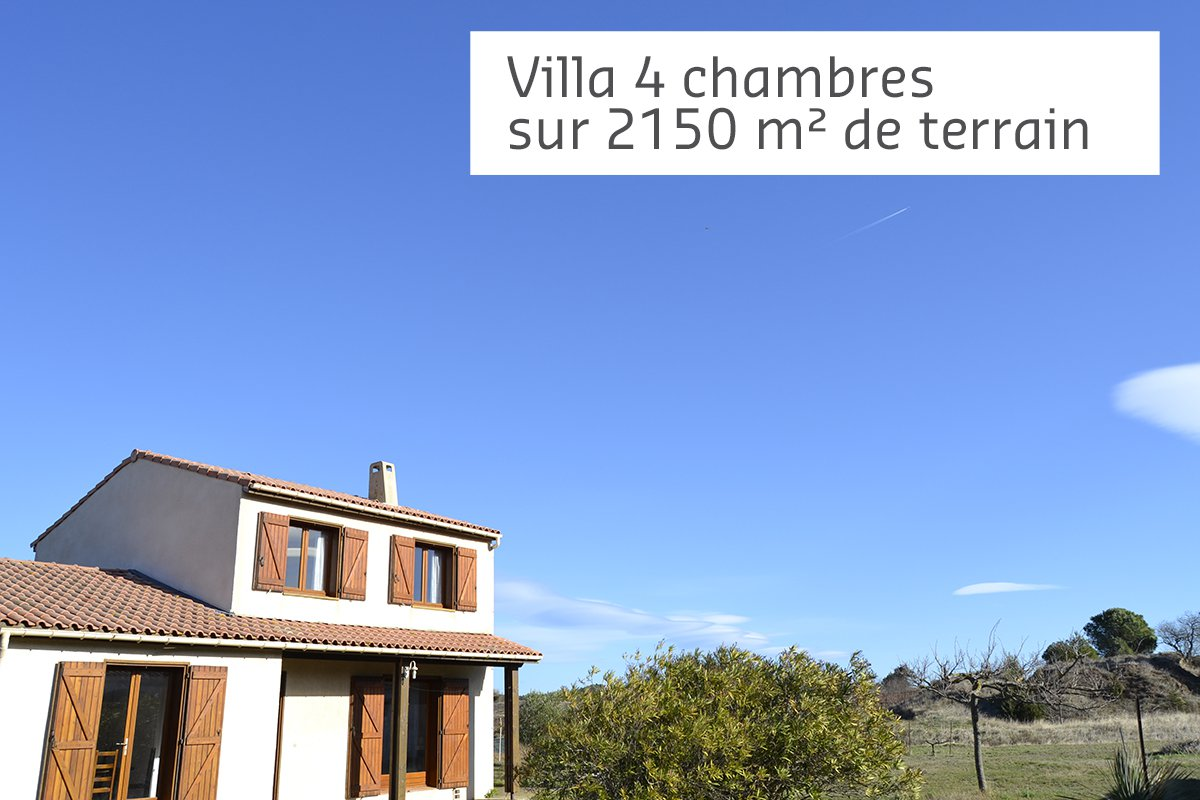 Sale Villa - Saint-Couat-d'Aude