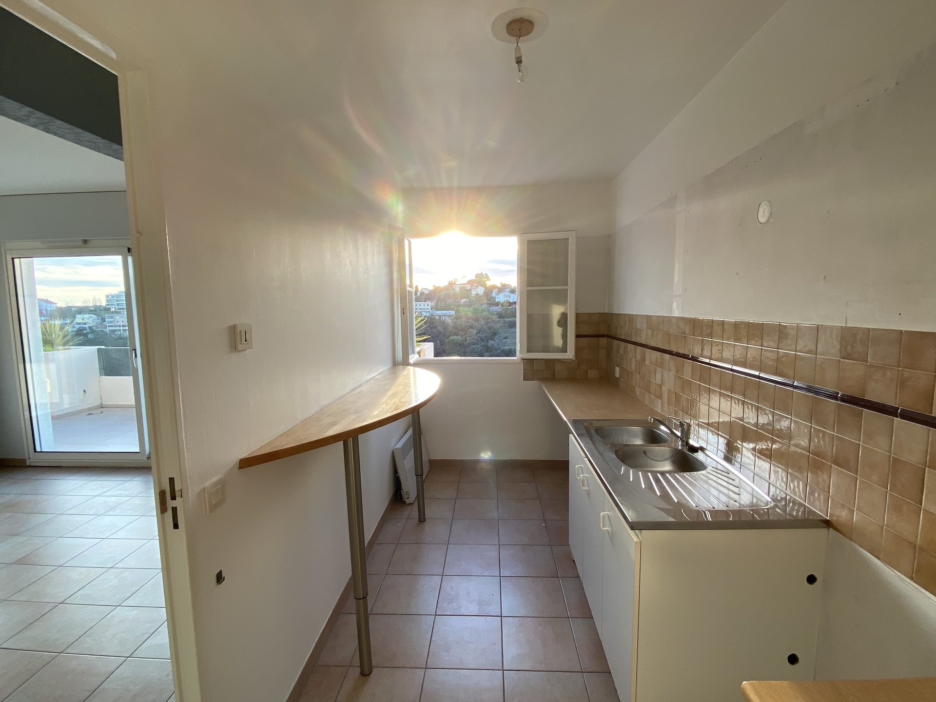 Apartment Villa Duplex 3 Rooms 75m2 sea view - Nice Bellet