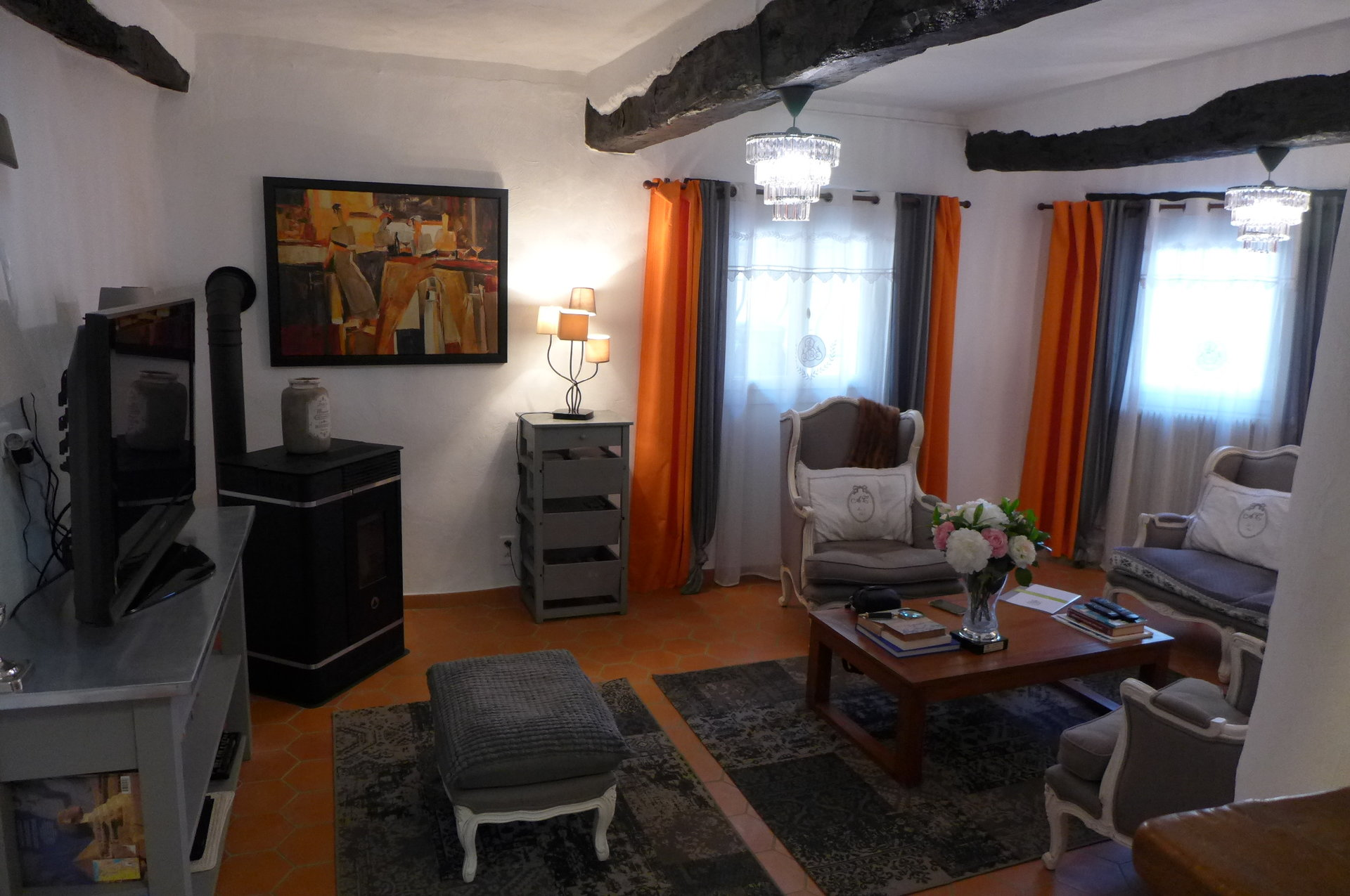 Newly renovated 3-bed village house in Magagnosc