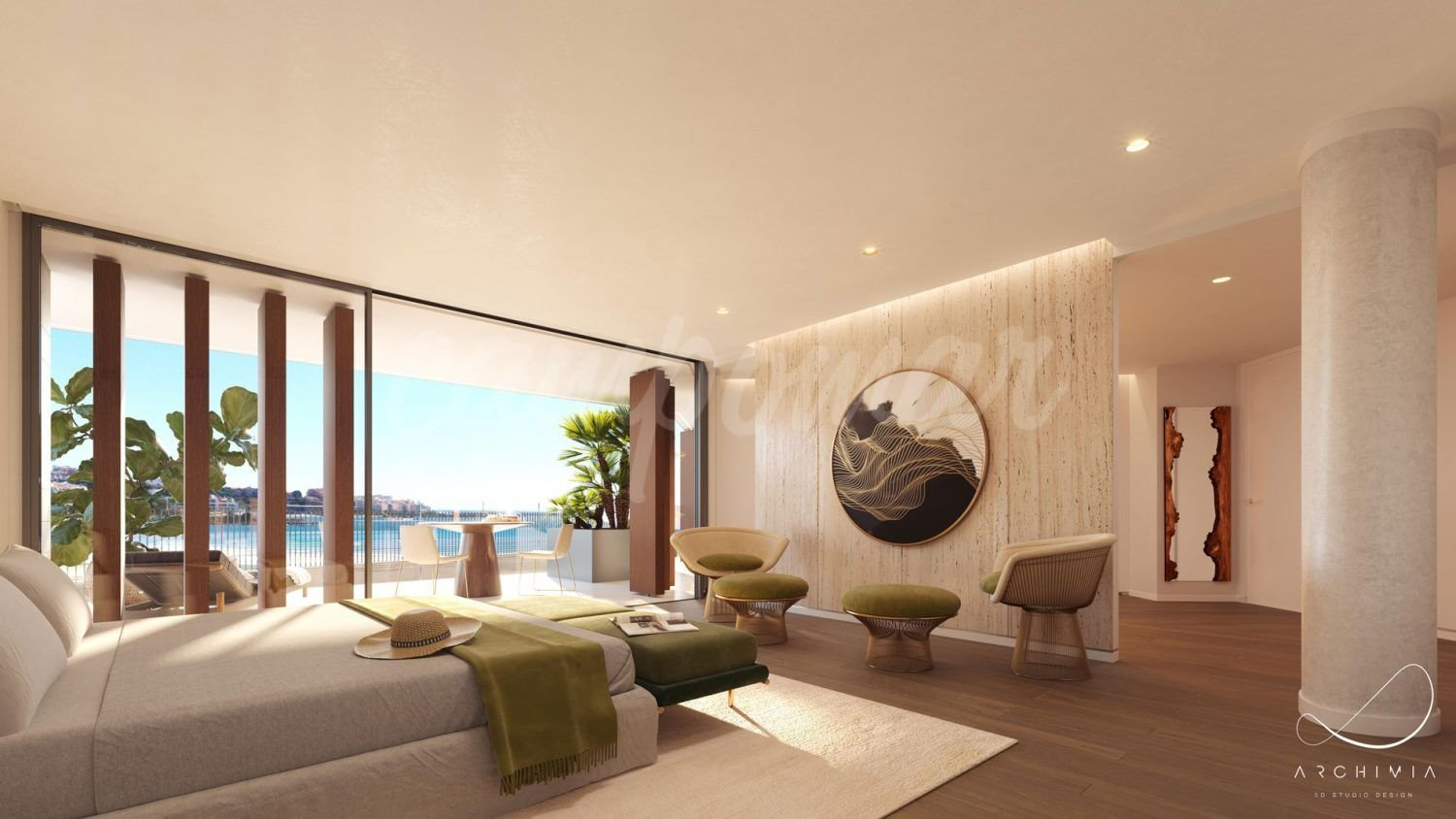 Stunning new beachfront komplex in Estepona