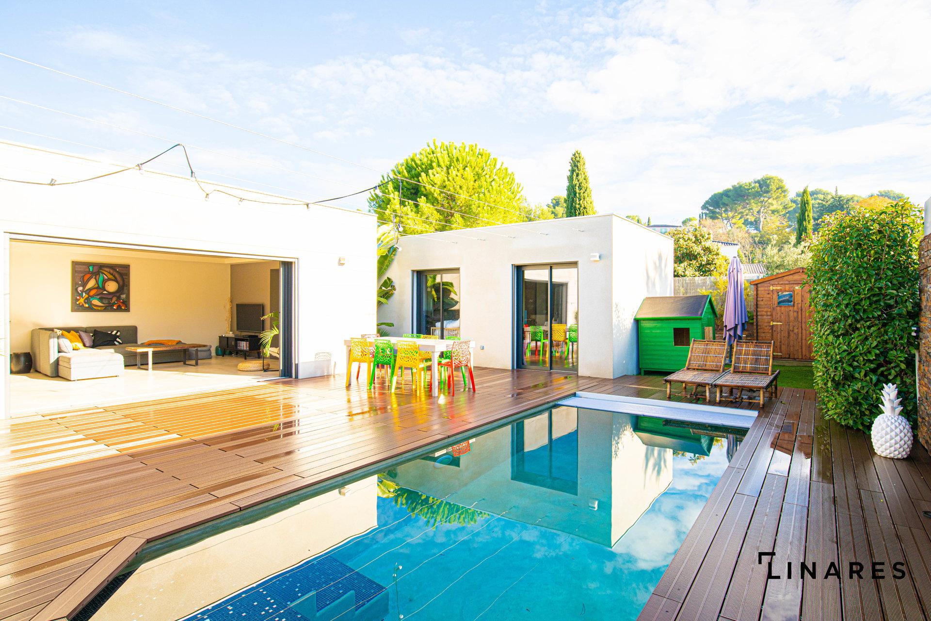 JUST PERFECT (Aux Camoins) Villa T4 de 120m2 + piscine + terrain 460m2