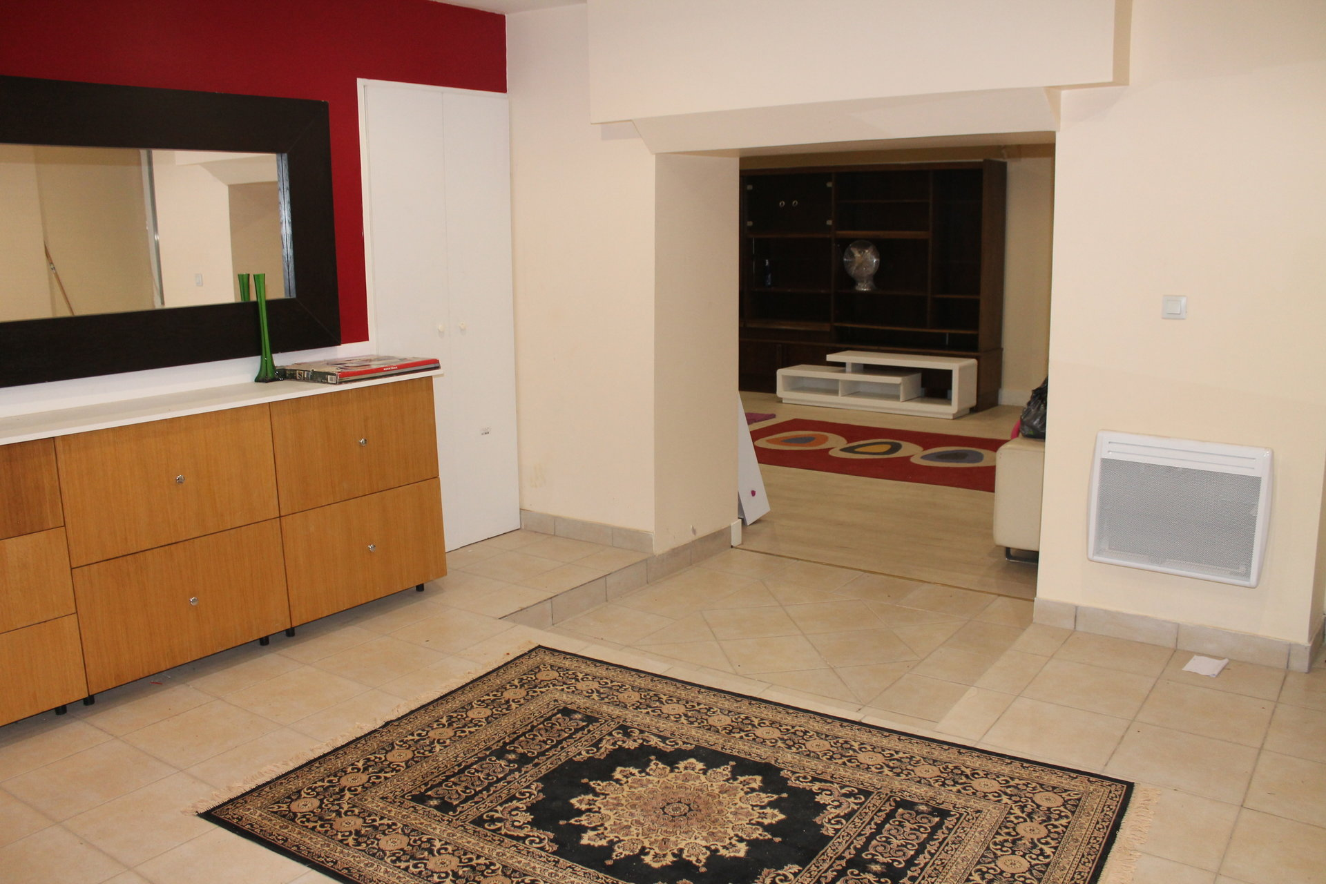 Appartement  de plain pied de 148m²
