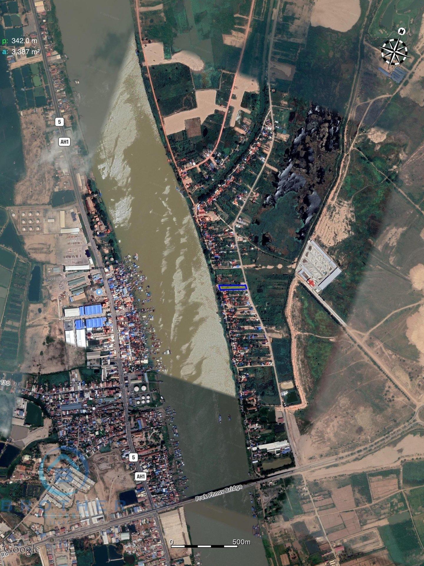 Sale Commercial land Prek Pnov