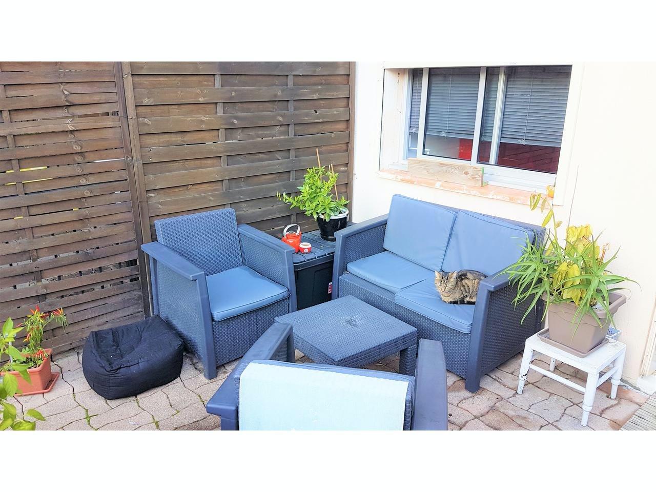 Studio m 40 kvm terrass - perfekt för uthyrning!
