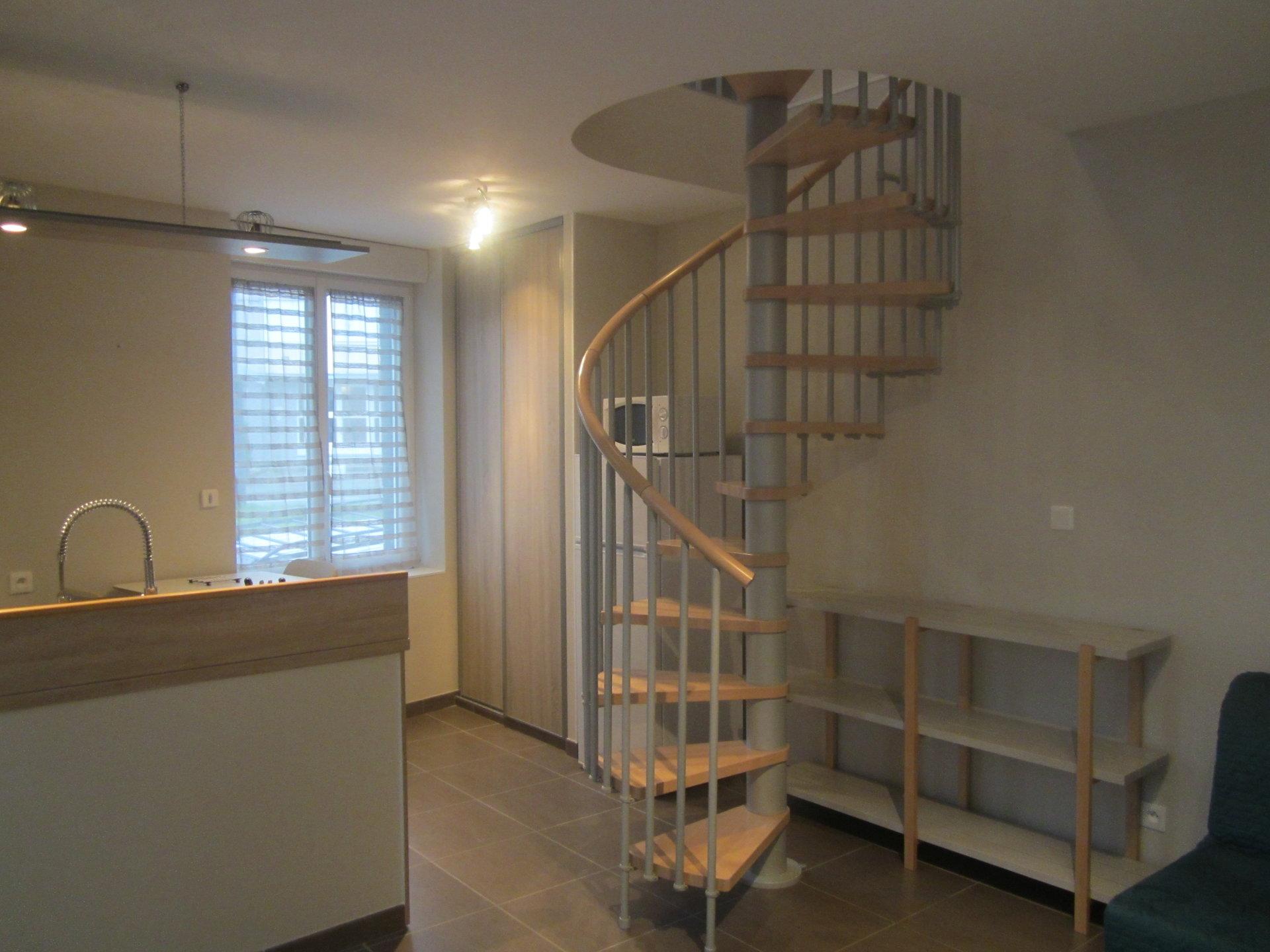 appartement T2 meublé en duplex Impasse Soupetard