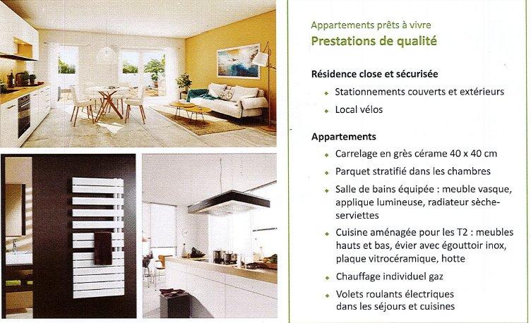 Achat Appartement, Surface de 84.56 m², 4 pièces, Meyzieu (69330)