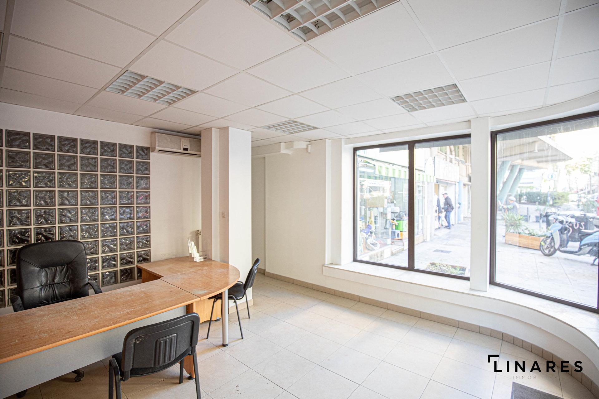 LE PIGNON Bureaux de 160m2 avec réserve Marseille 13004