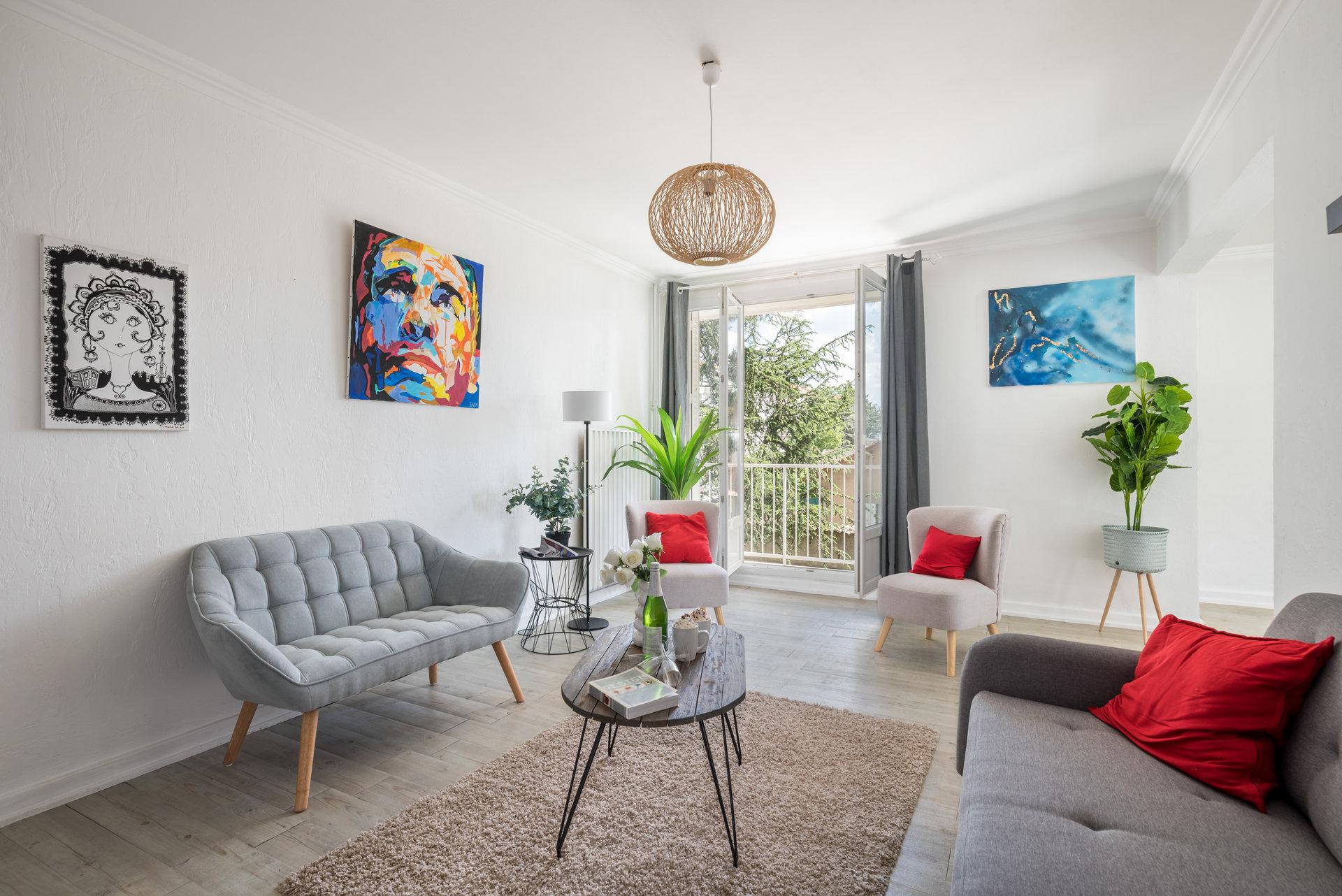 Appartement T4 Lyon 5, rue Georges Martin Witkowski