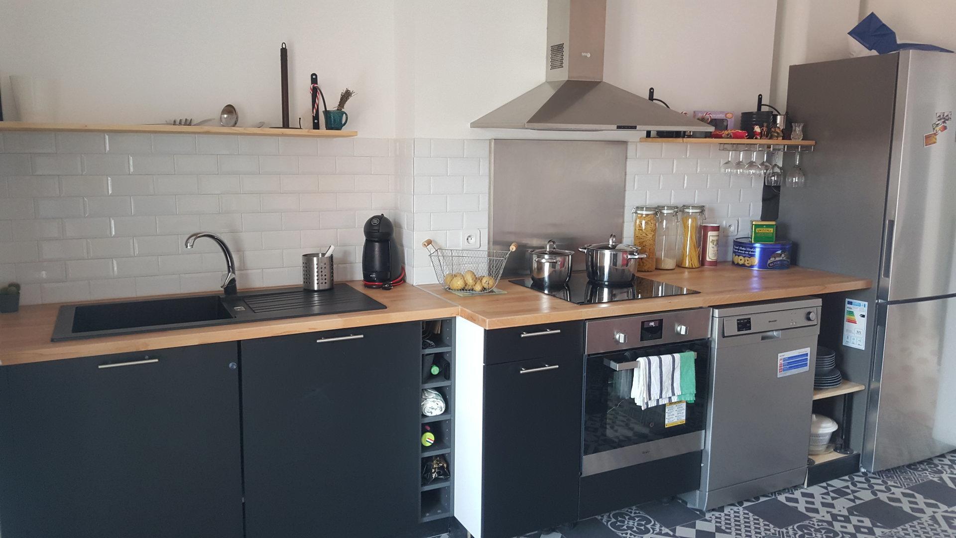 Clémenceau , appartement 4 chambres meublées tout confort, idéal colocation