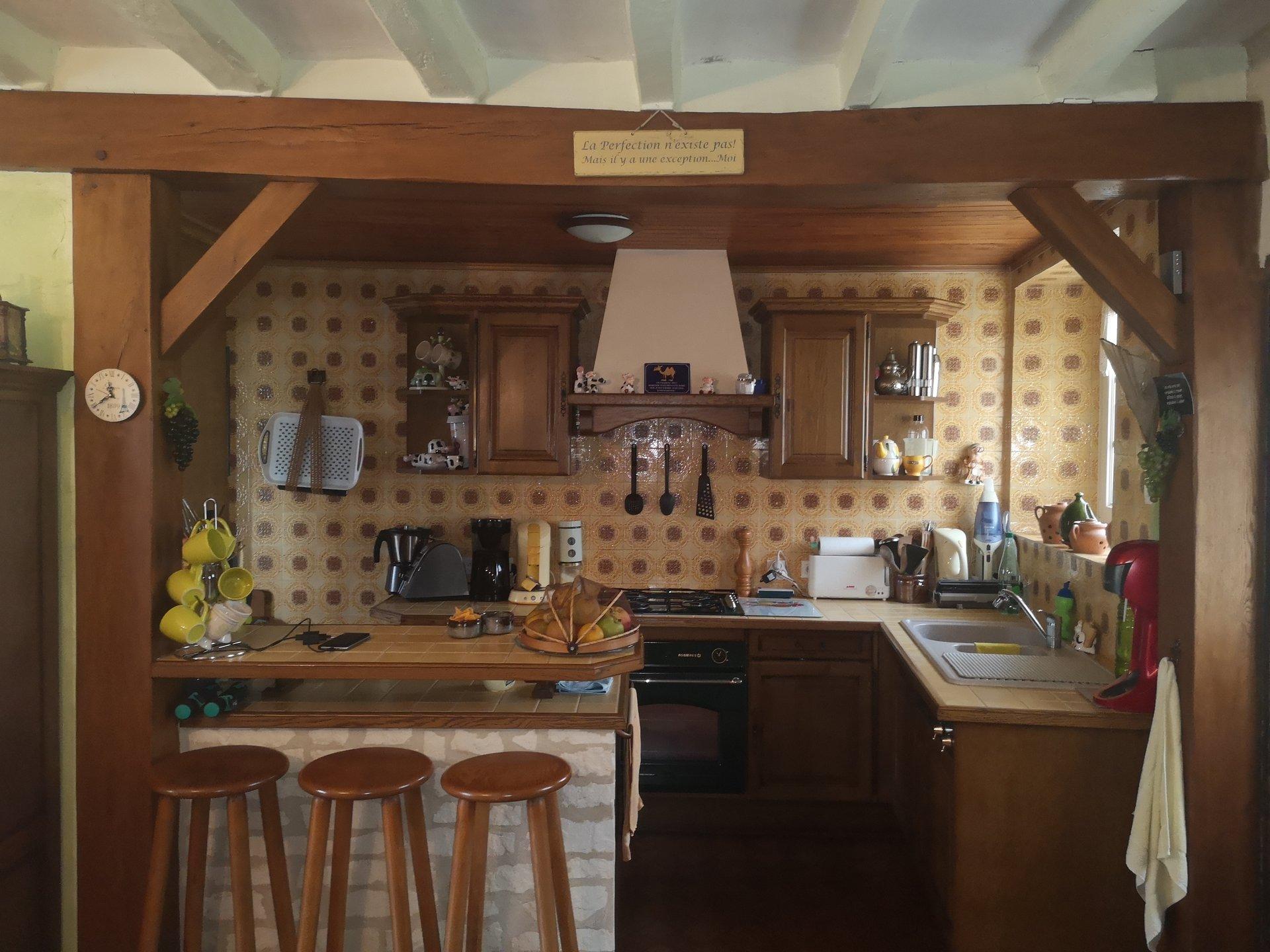 Fermette 170m² + Dépendances à Pervenchères
