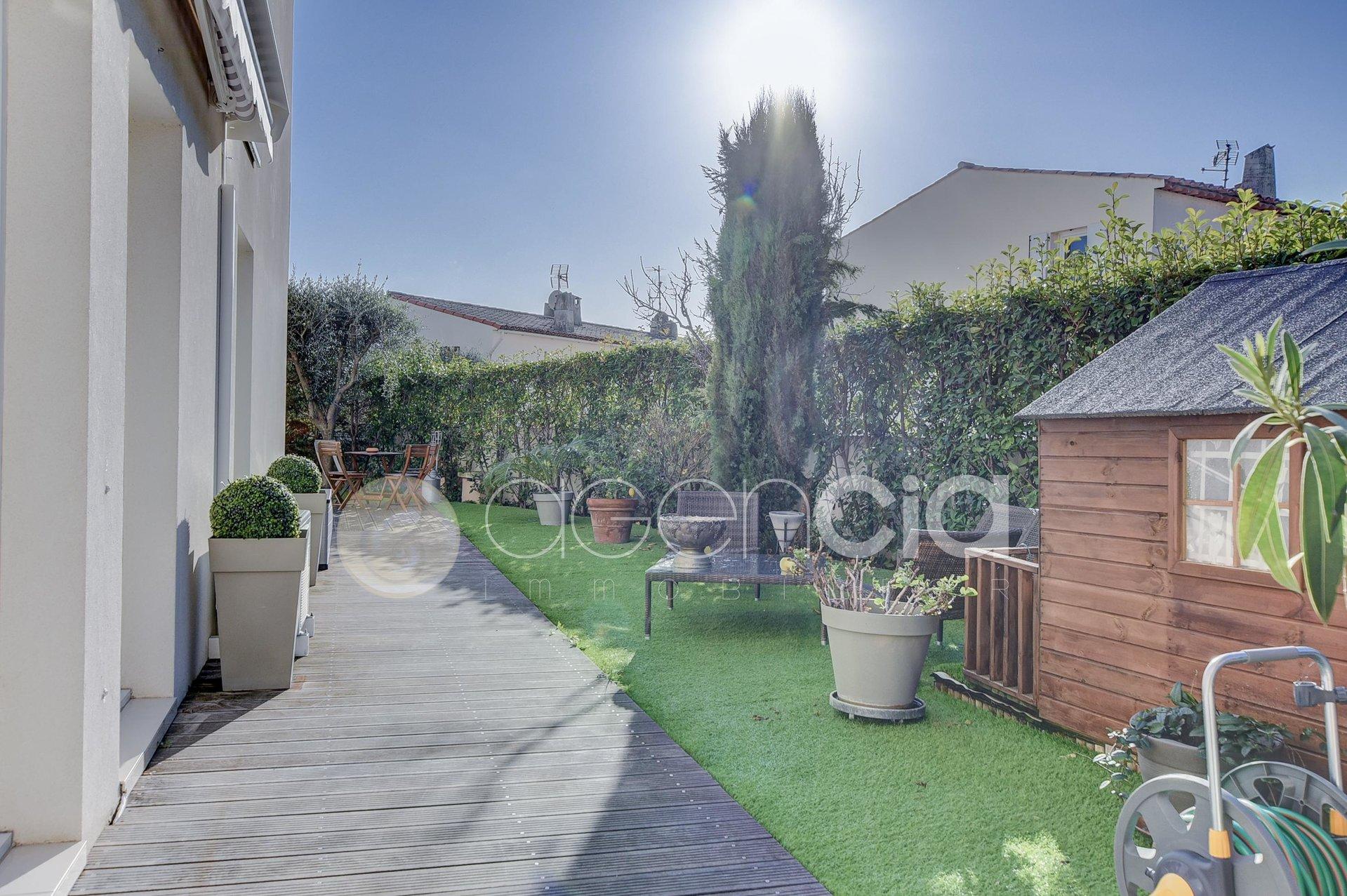 Appartement 4P avec jardin 180m2