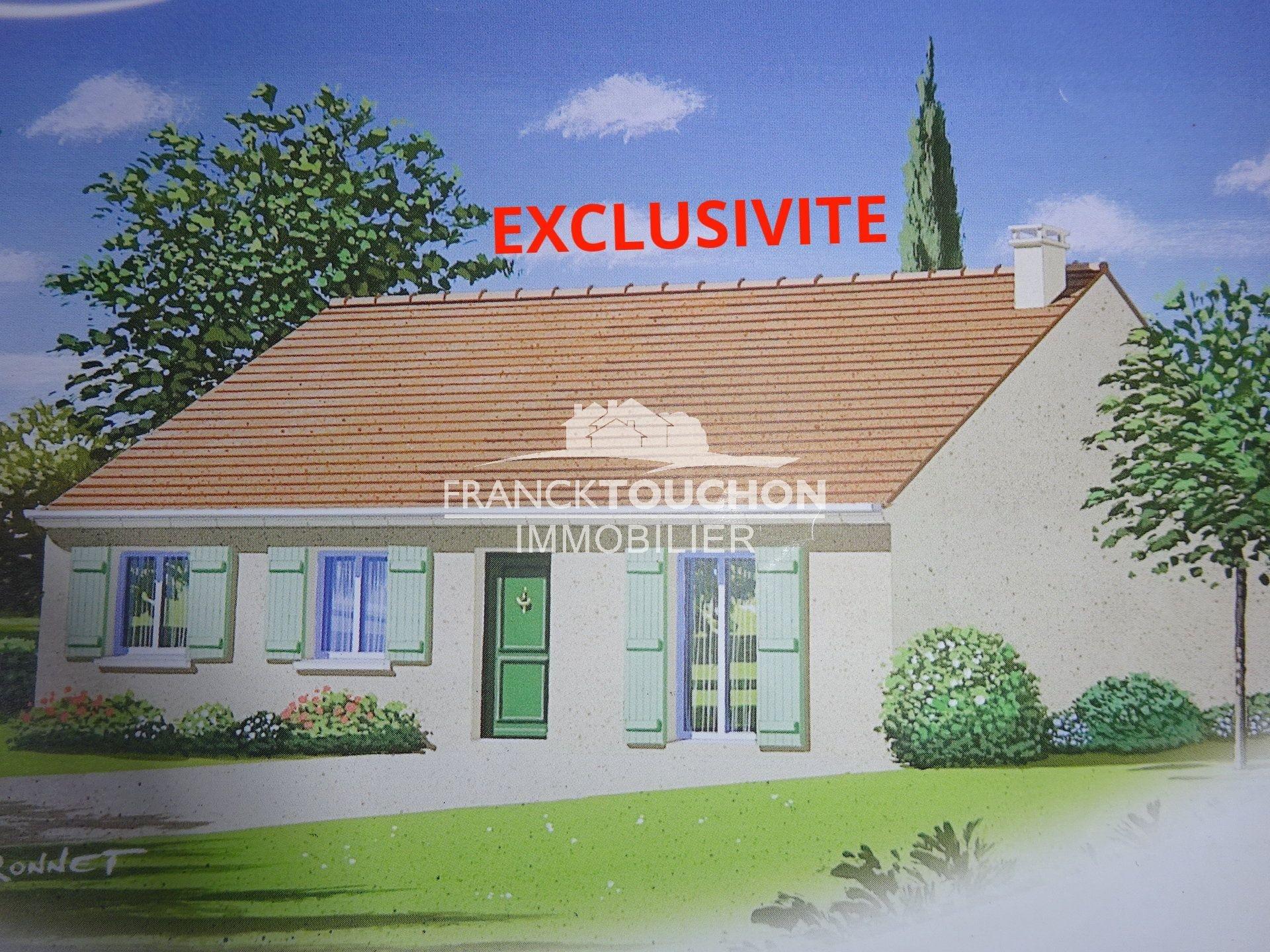 Montargis Exclusivité Maison SH 88m² Terrain 800 m²