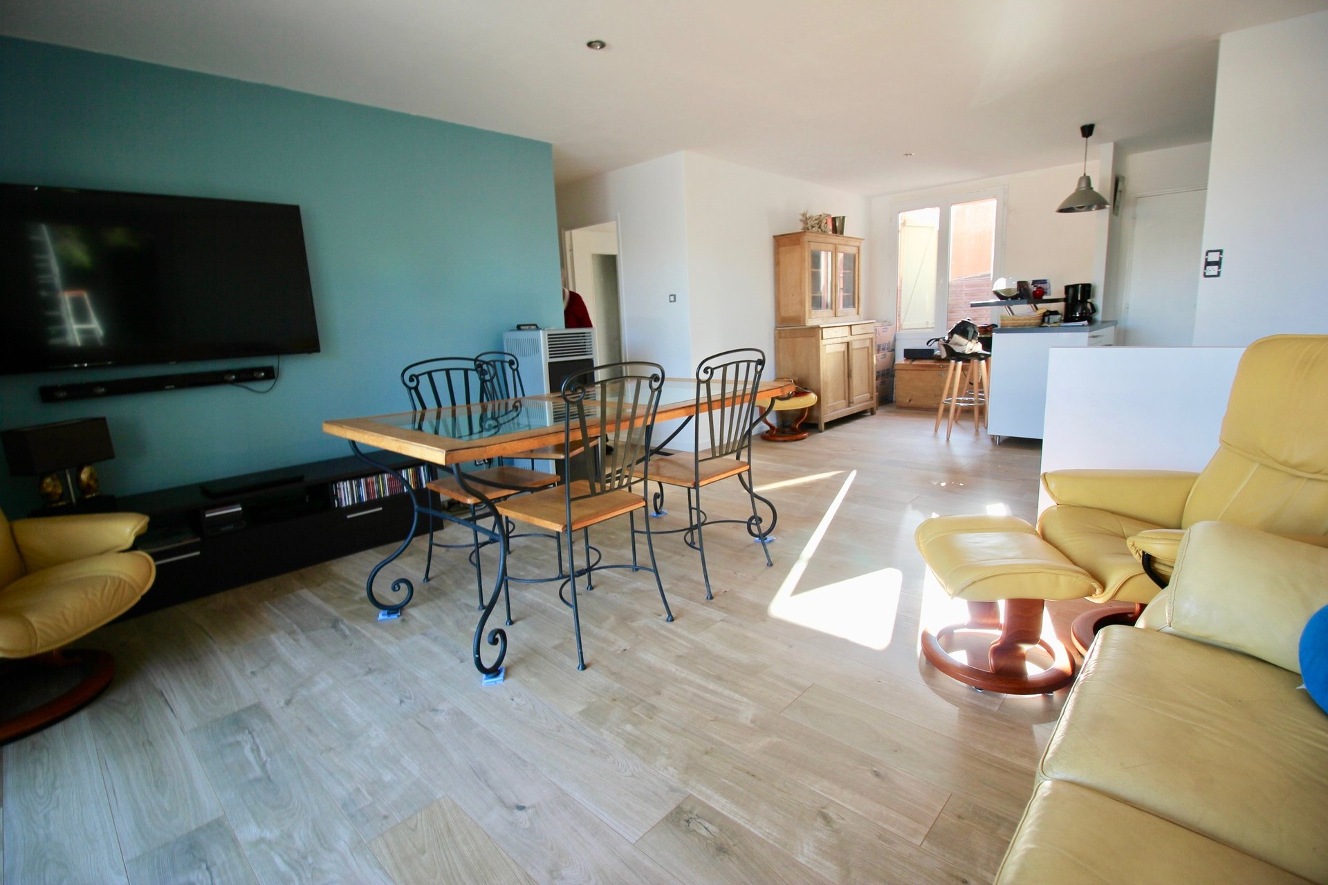 villa T4 85m² sur 580 m² avec double garage