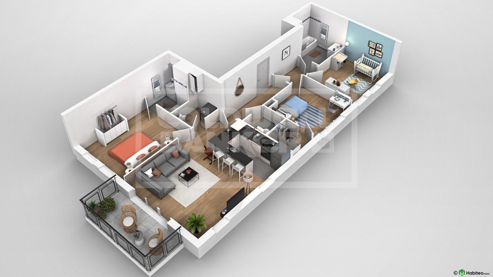 Vente Appartement - Villeneuve-d'Ascq
