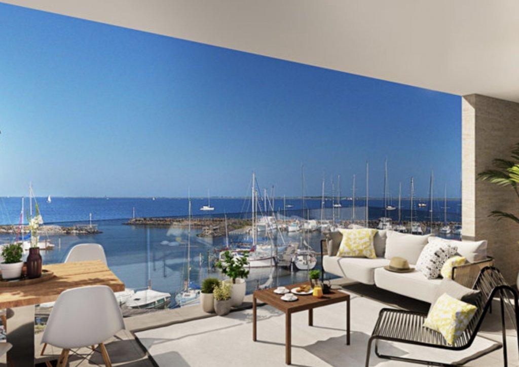 Appartement Toit terrasse avec piscine T4 Neuf R+4 vue port