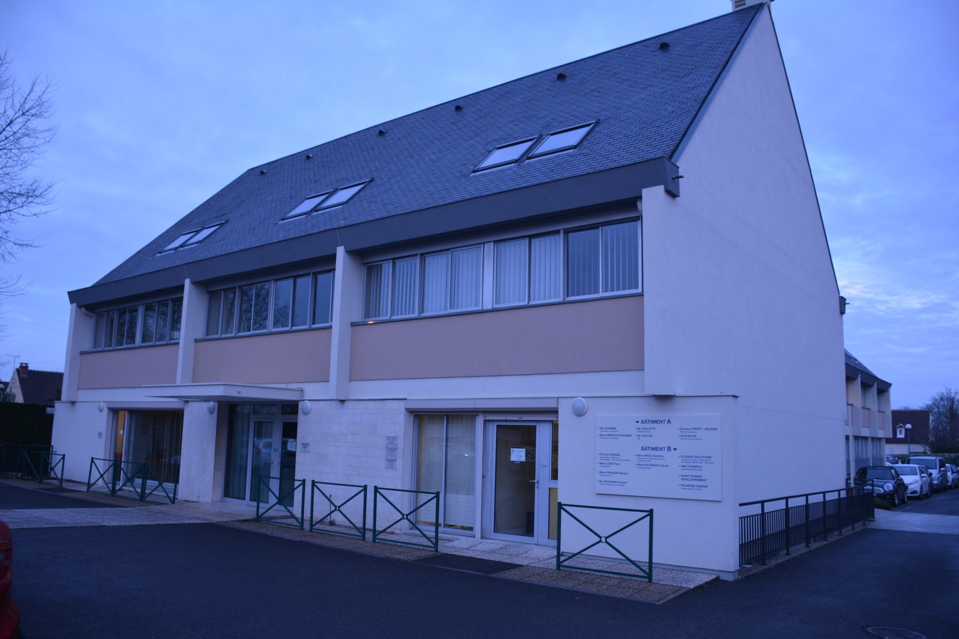 LOCAL PROFESSIONNEL SENLIS 80 m2