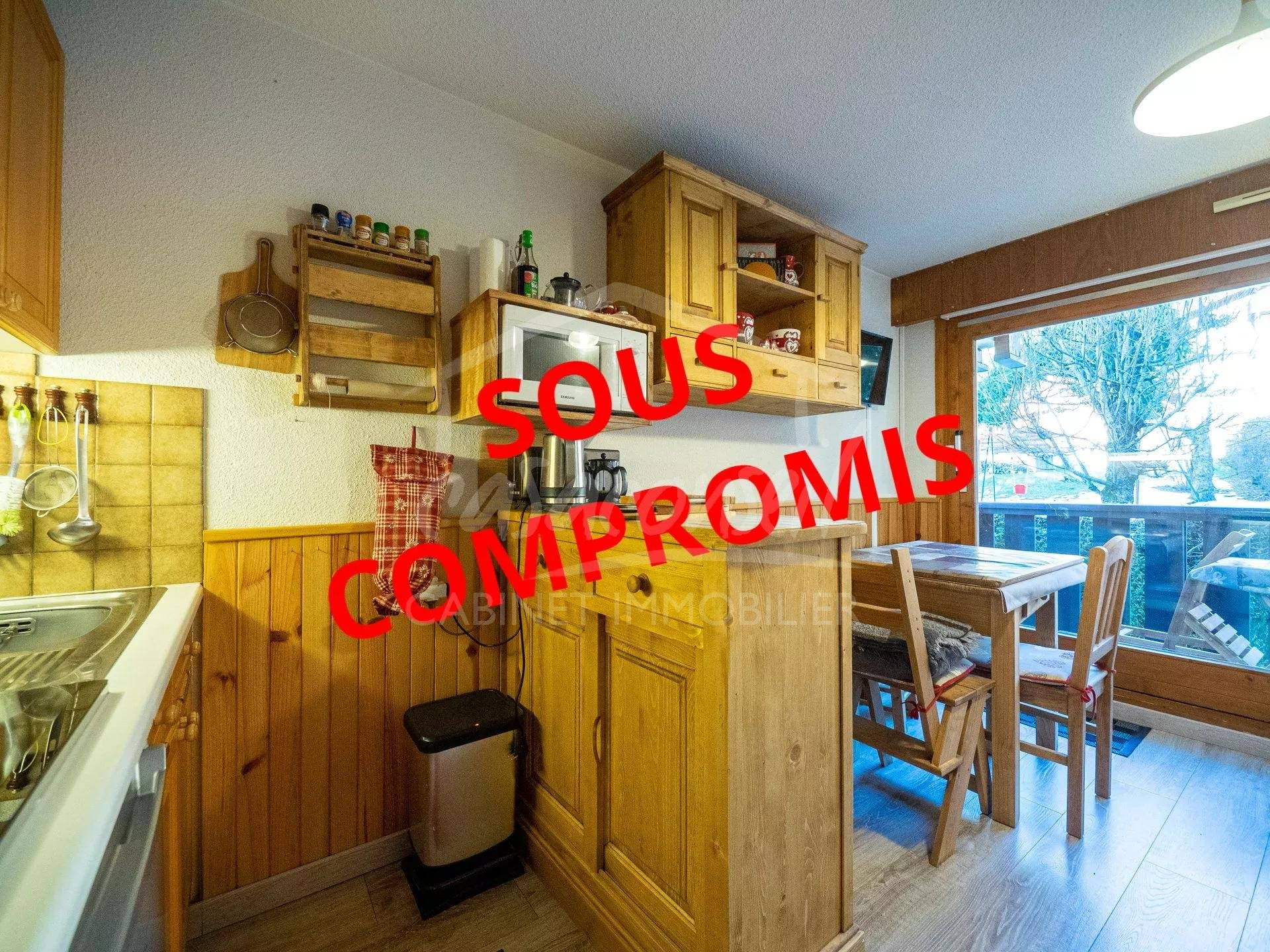 LES CONTAMINES MONTJOIE - Perfect position for this one bedroom apartment + bunks