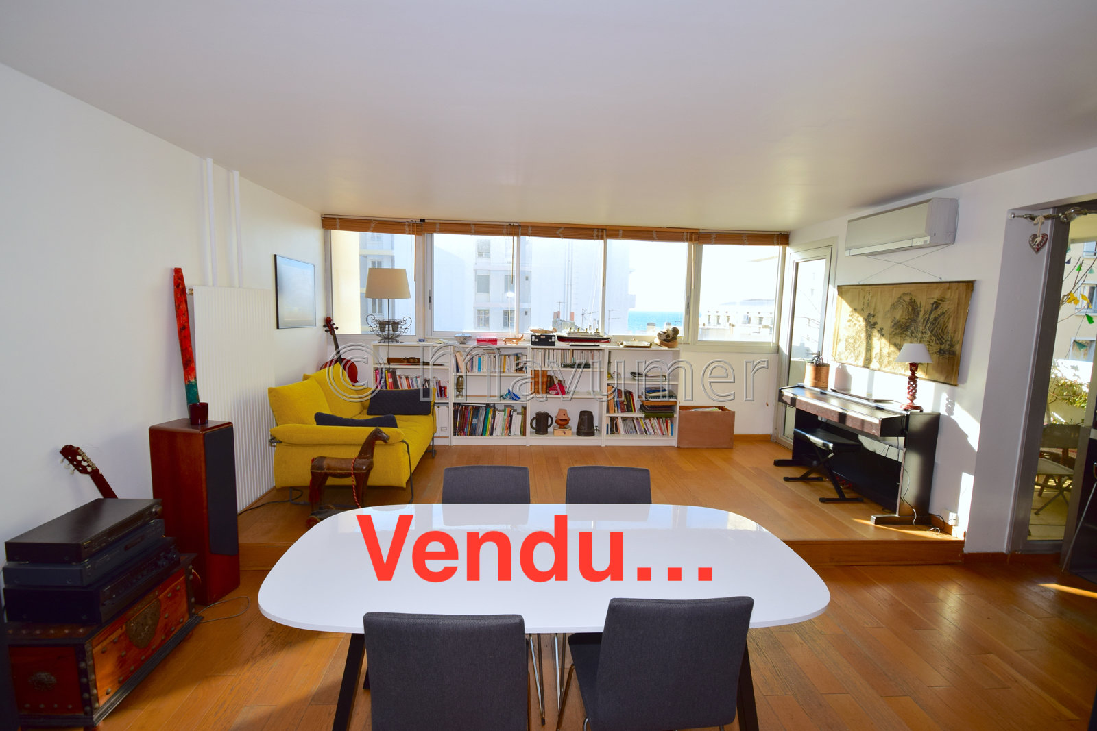 APPARTEMENT T4 VUE MER 13007 MARSEILLE CATALAN