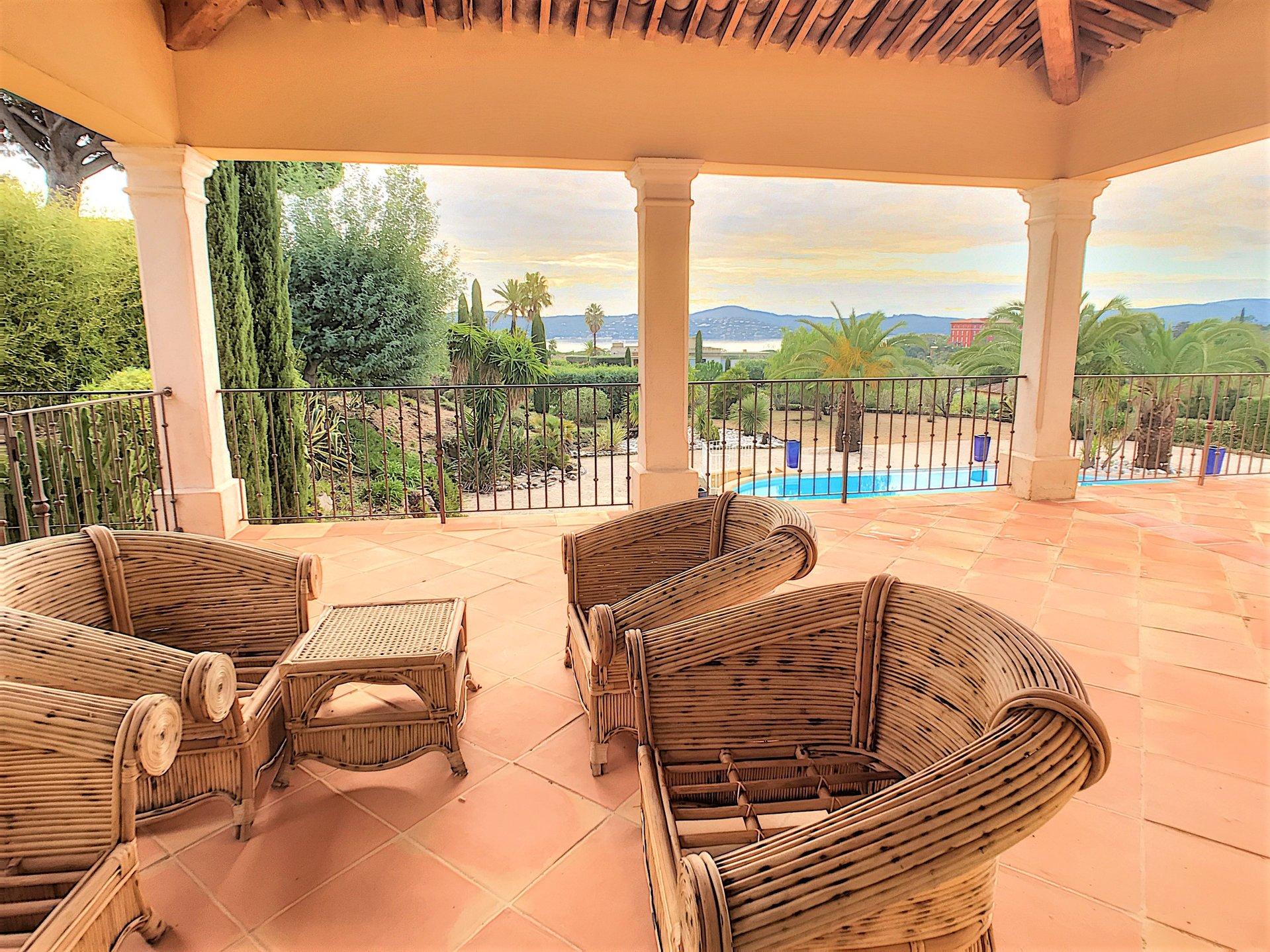 Villa d'exception, vue mer panoramique, proche plages
