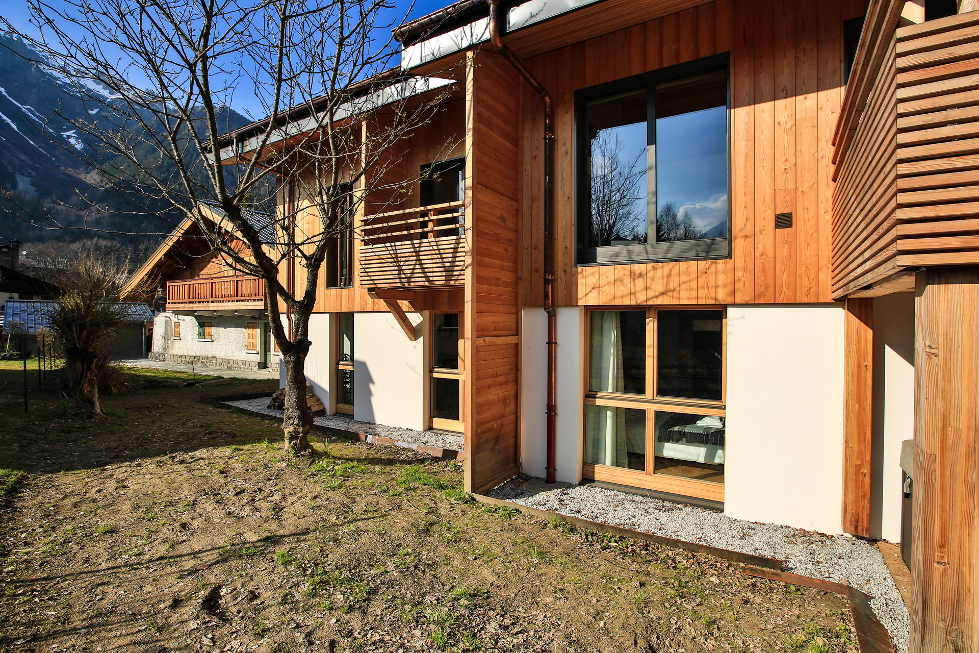 Semi detached chalet Chamonix