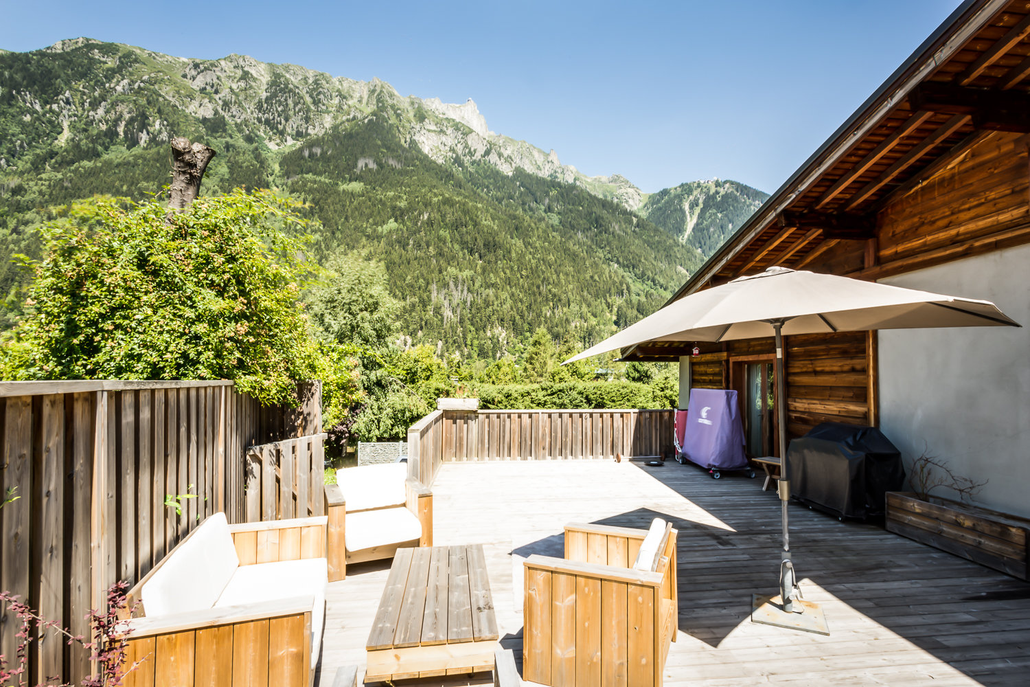 Semi detached chalet Chamonix !