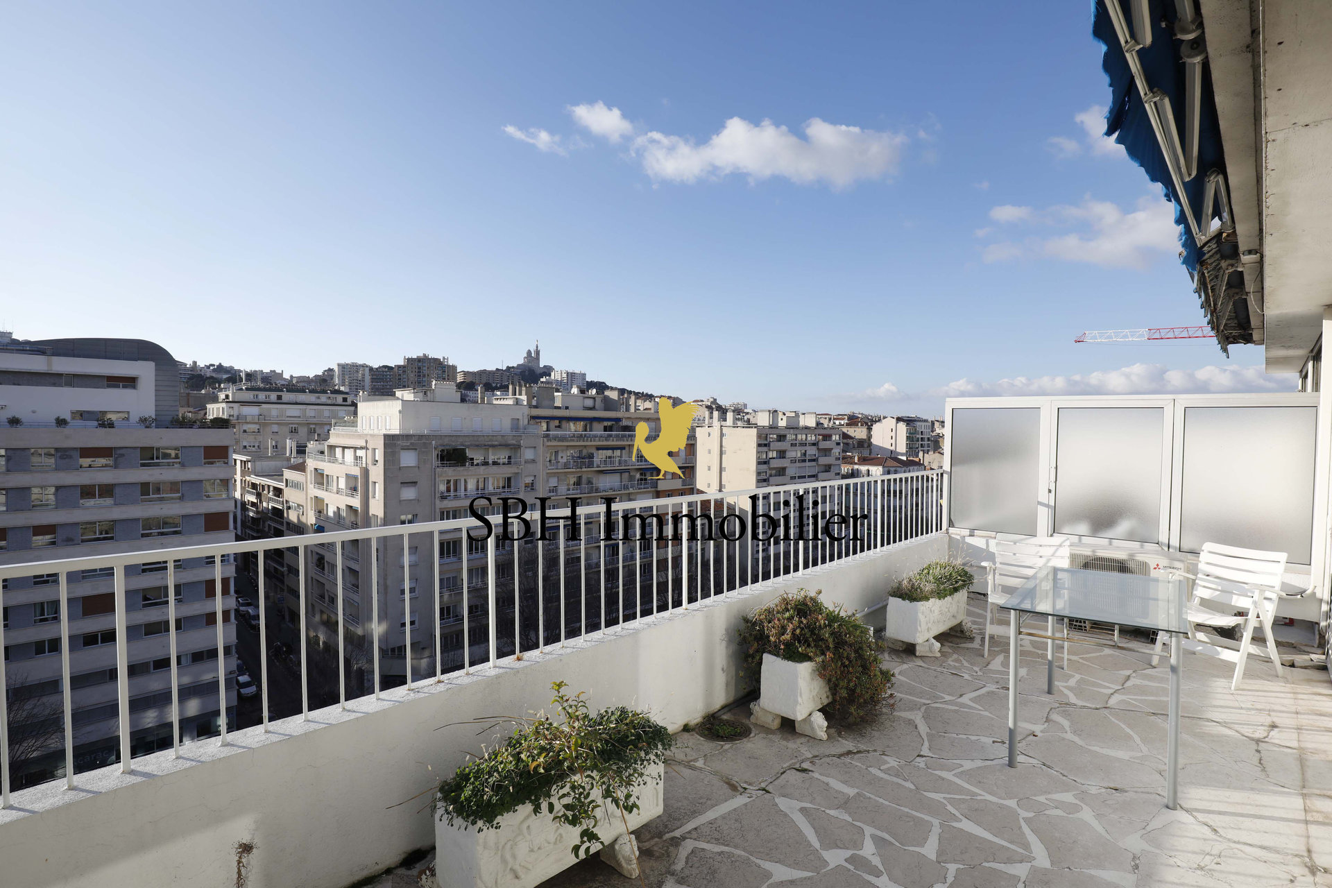 T5 terrasse en dernier étage Périer