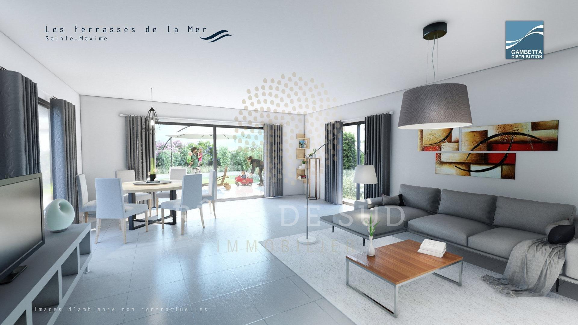 New type 4 apartment in SAINTE-MAXIME