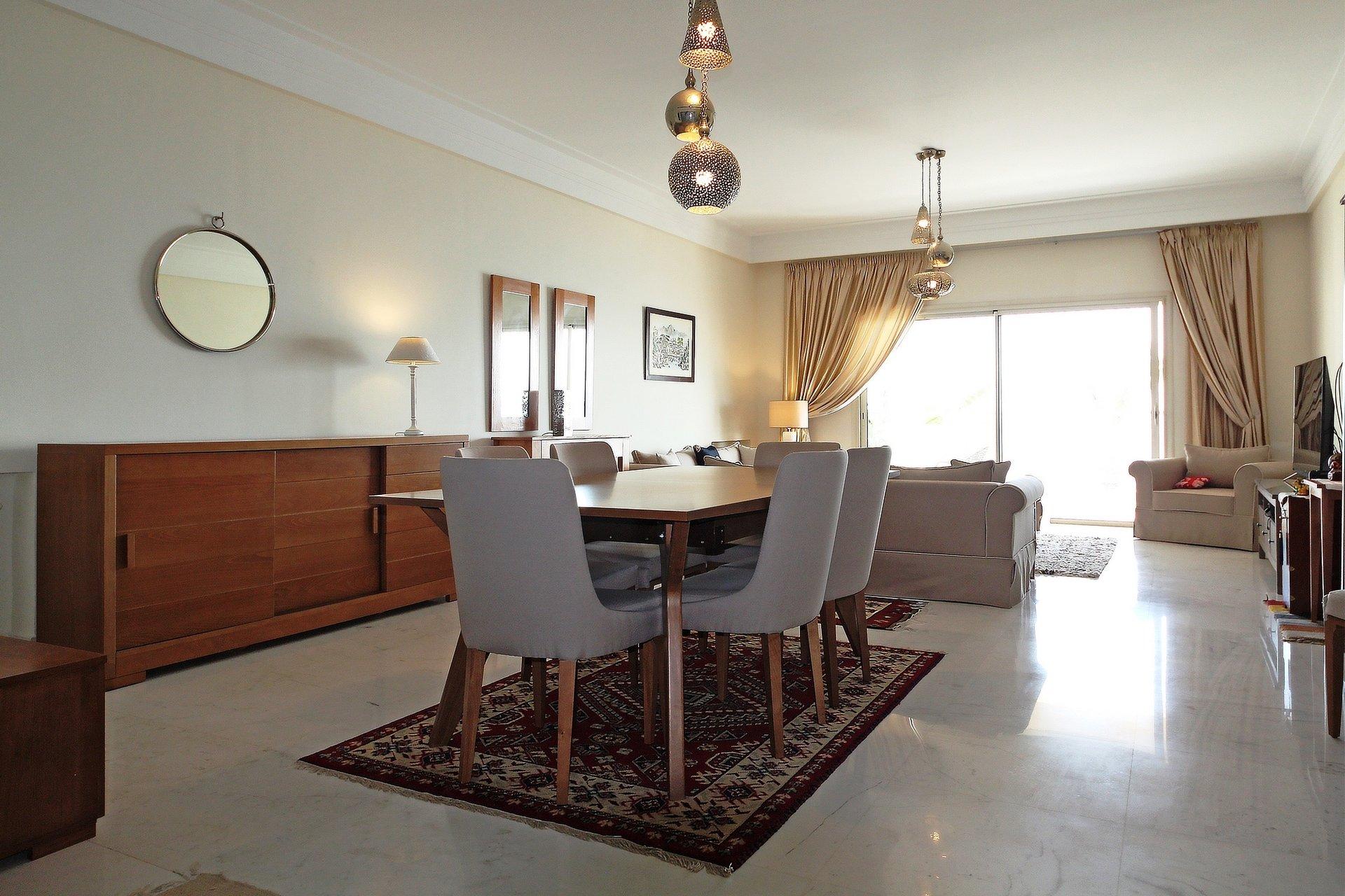 appartement meublé salon et trois chambre au lac 1