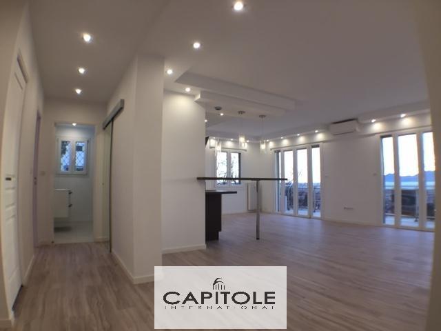 Cannes Basse Californie, appartement traversant, dernier étage, vue mer , 75 m², garage