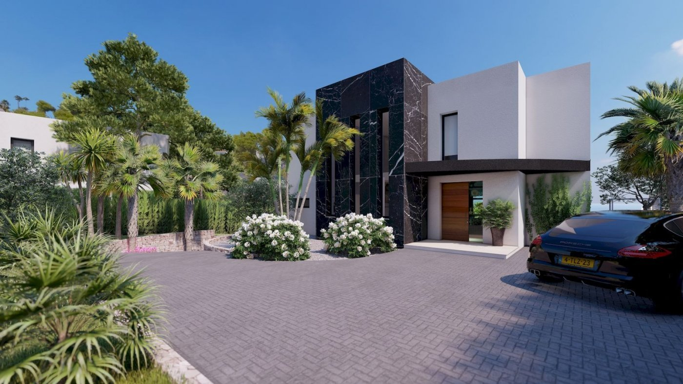 Nouvelle villa de luxe avec vue mer et ouverte