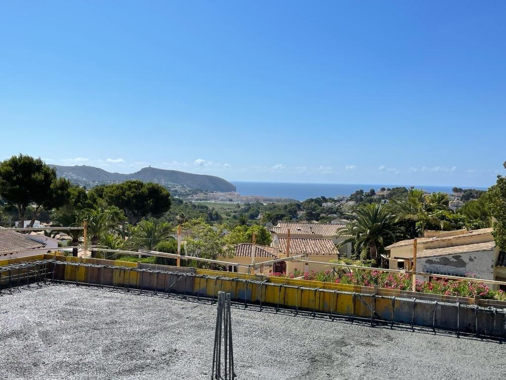 Nieuwe luxe villa met zee en vrij uitzicht