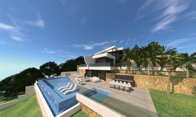 Nouveau projet de construction avec un design moderne