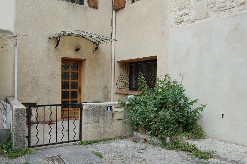 maison avec cour au coeur du village de Fontvieille