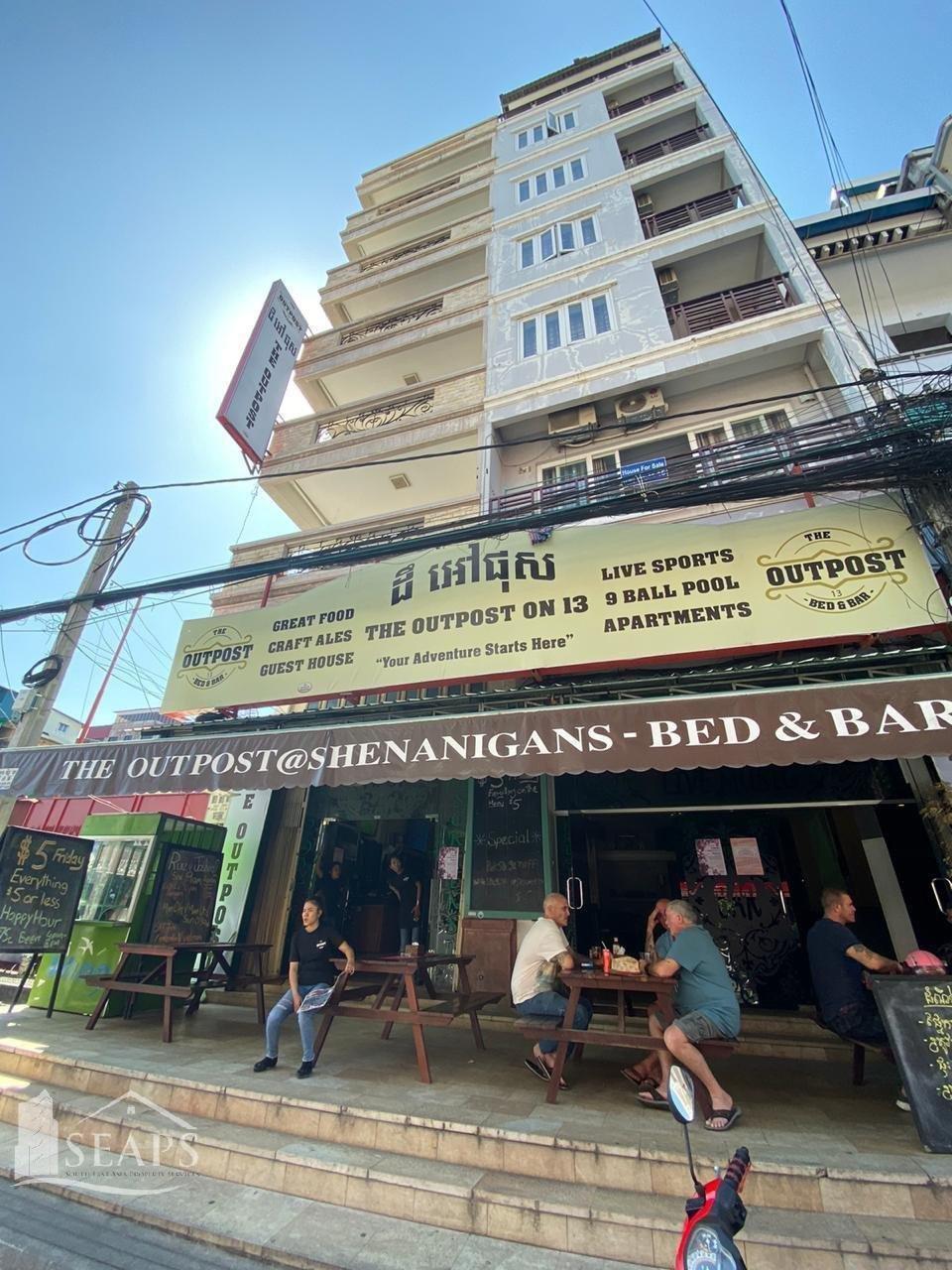出售 商业 Daun Penh Phsar Kandal I