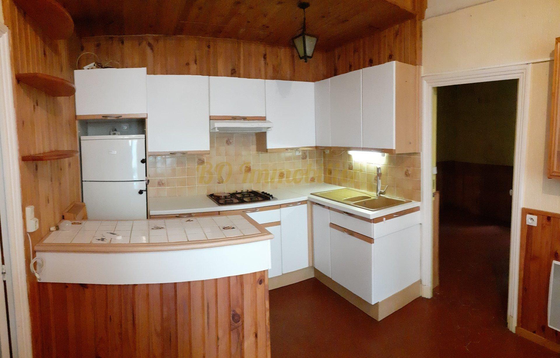 Appartement 2 pieces de 36.20 m² + grande cave