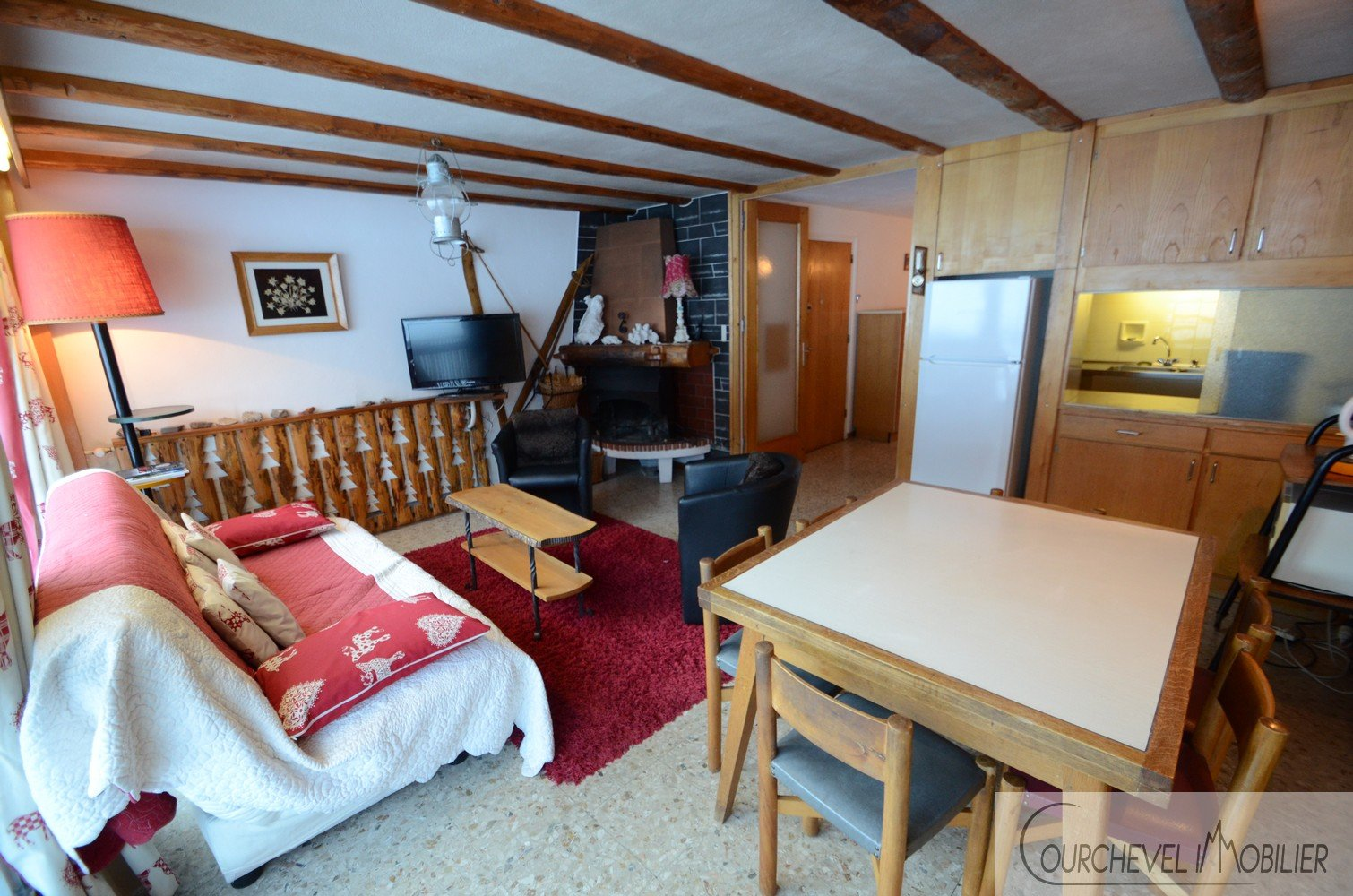 APPARTEMENT 53m² - COURCHEVEL LE PRAZ
