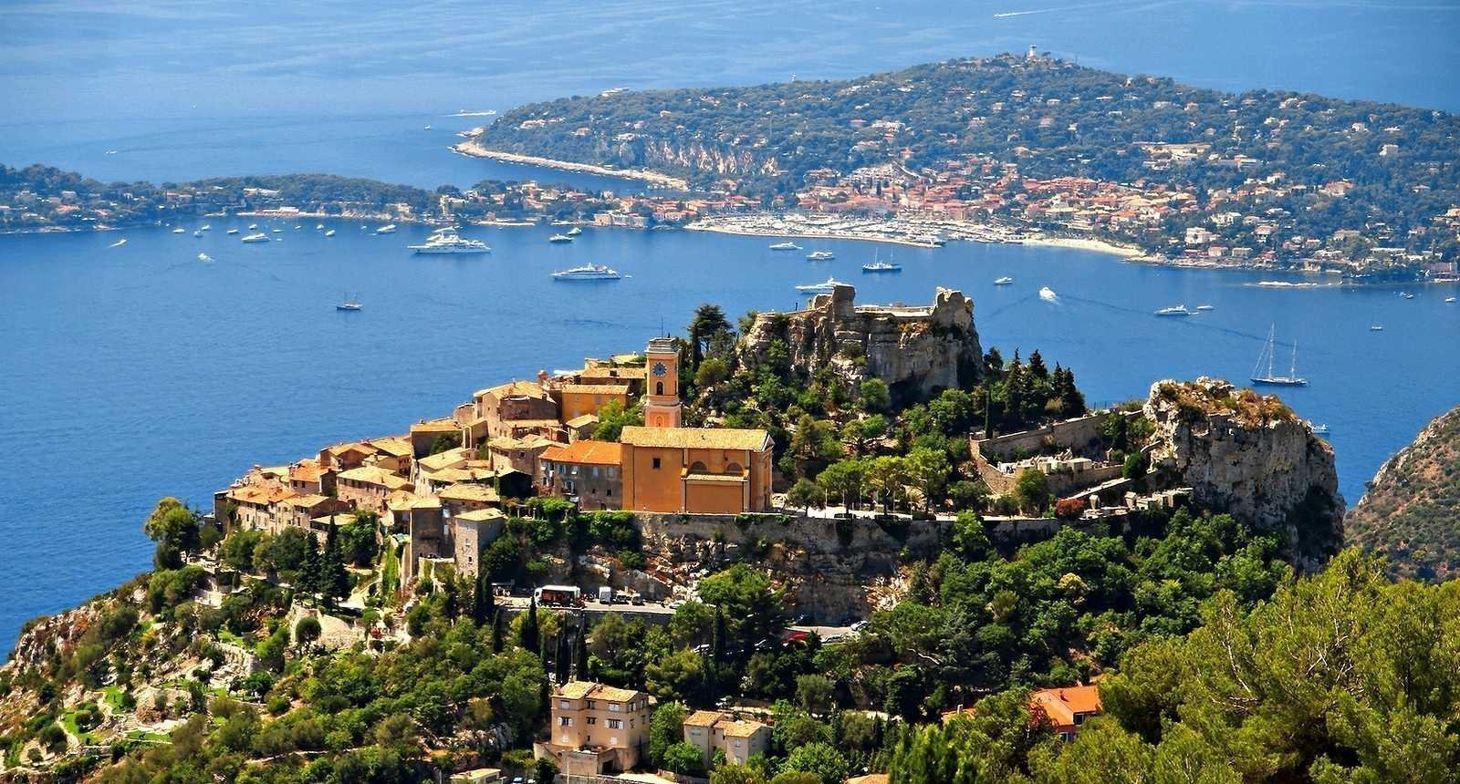EZE Village - 1 bed Apartment - Sea view - Swimming pool