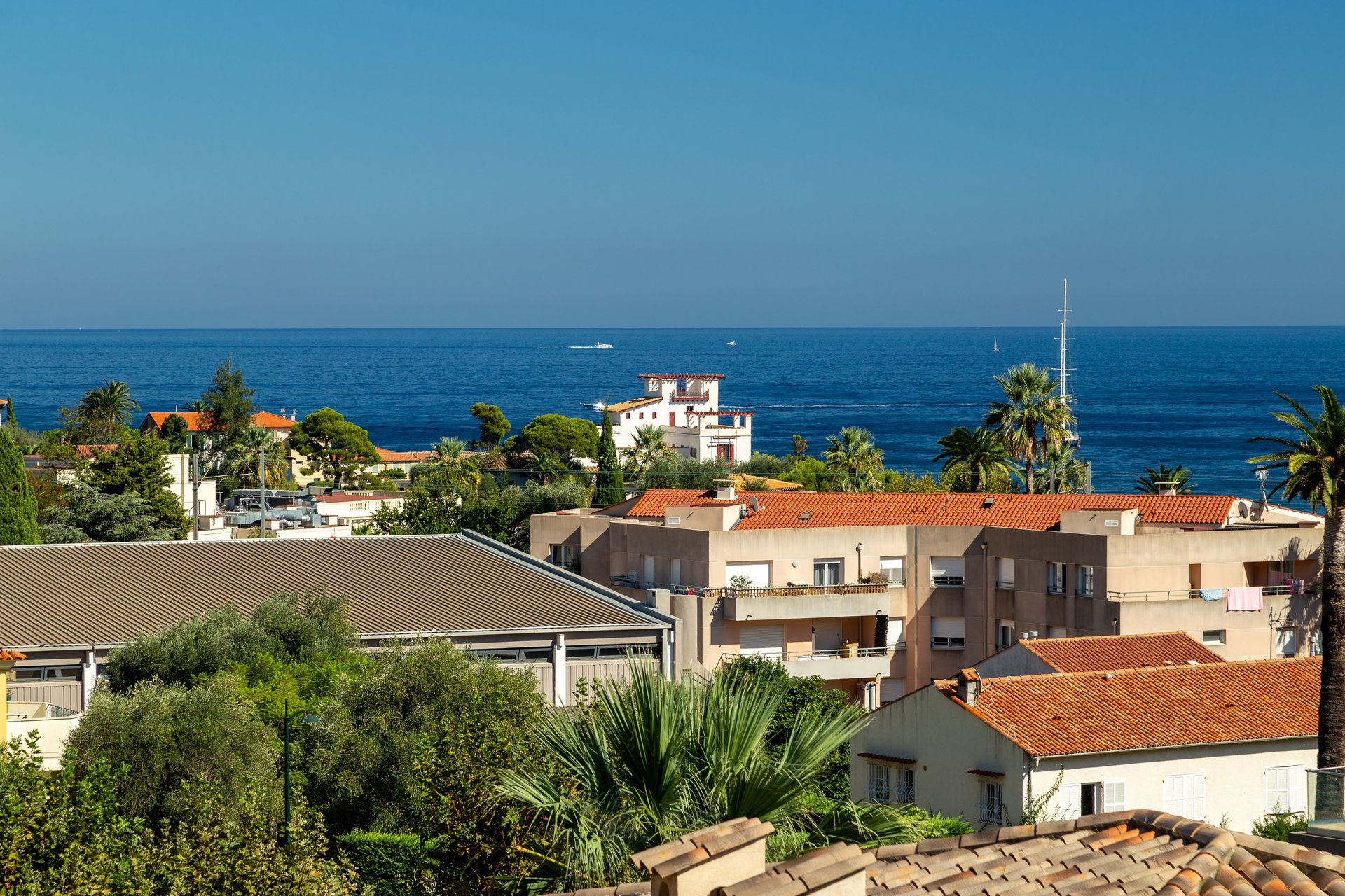 SALE VILLA BEAULIEU SUR MER SEA VIEW