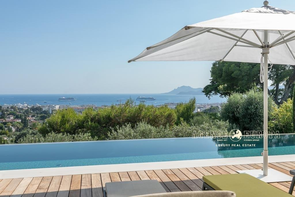 CANNES CALIFORNIE – PANORAMIC SEA VIEW