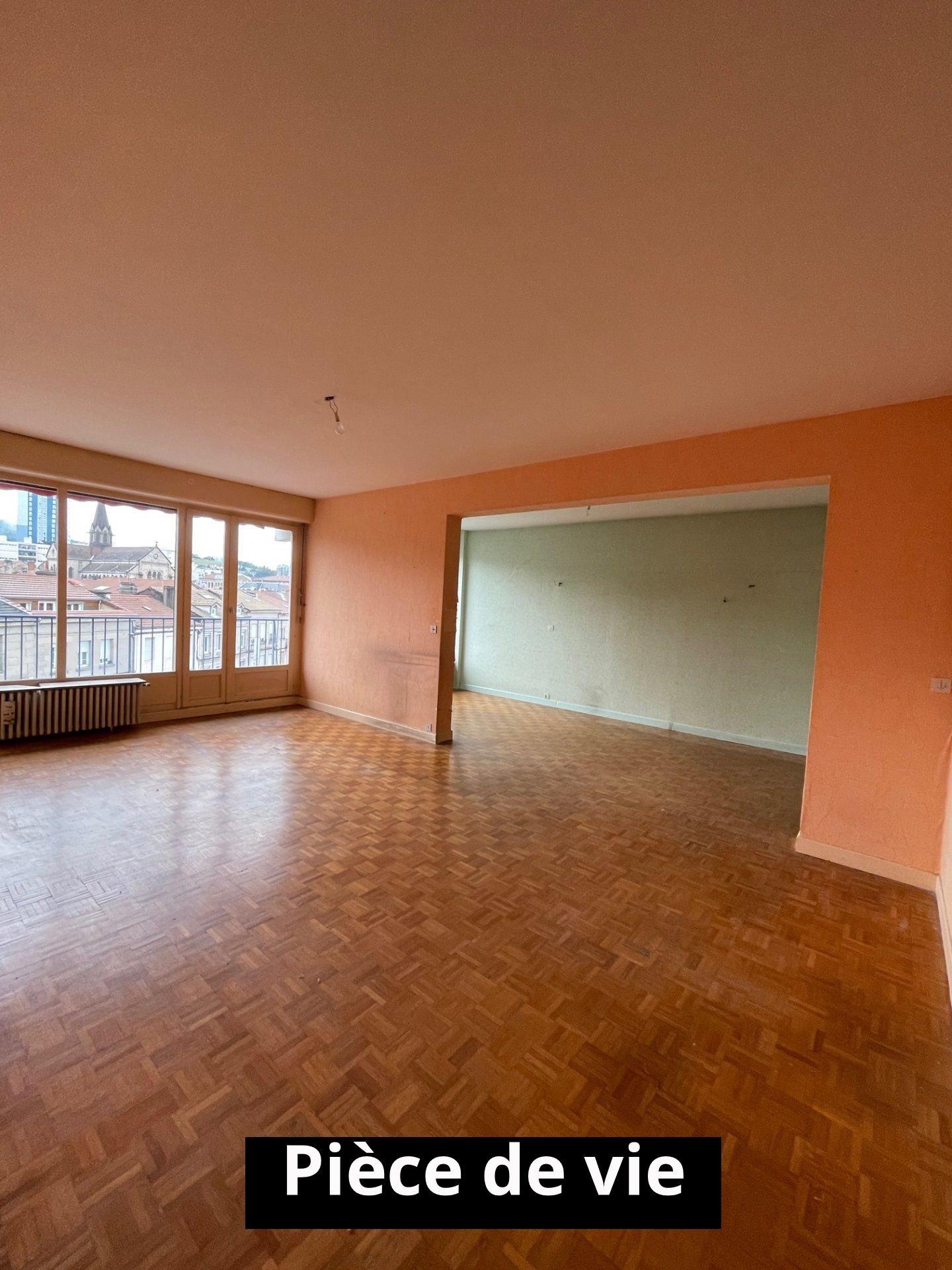 Appartement 85m² Firminy centre
