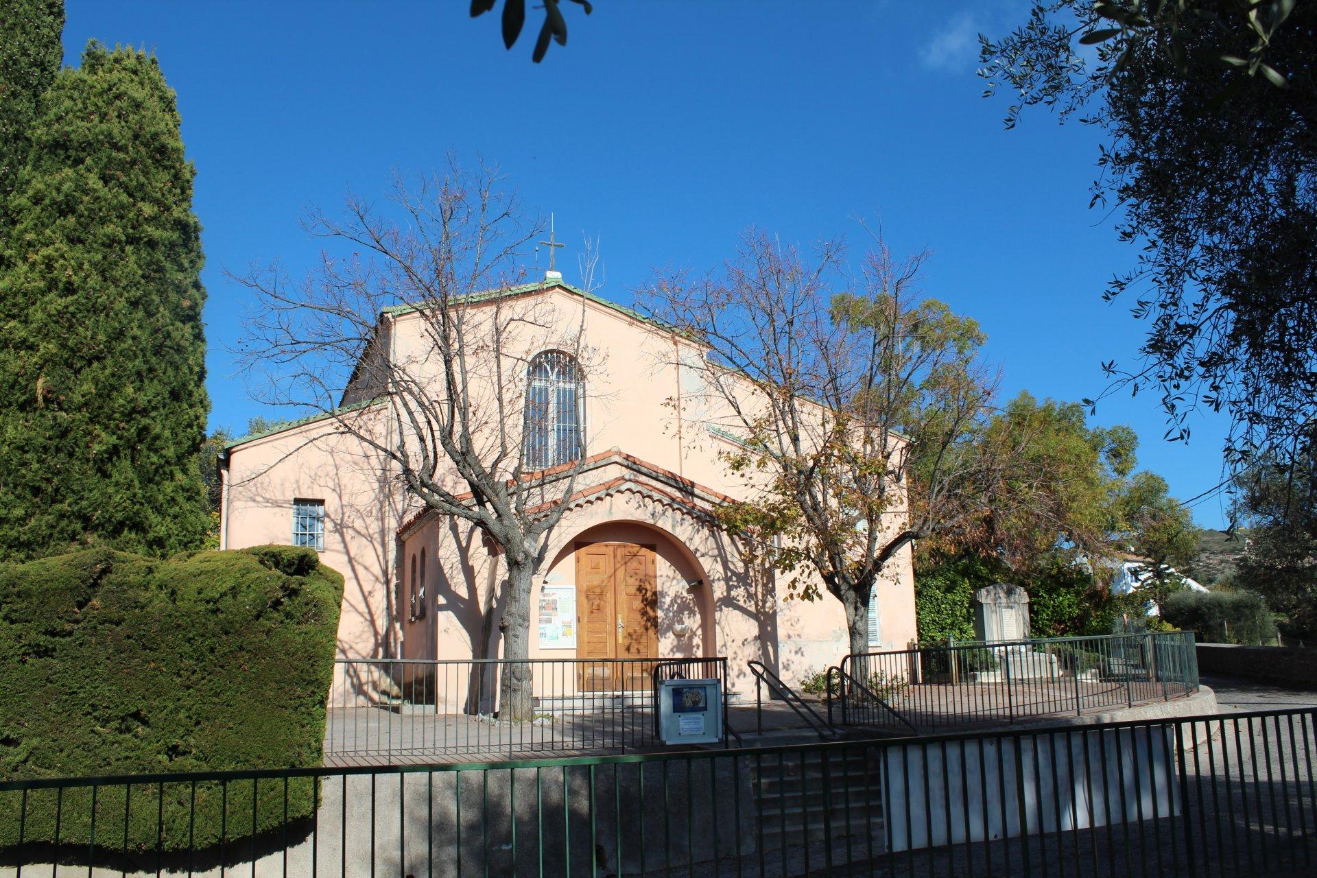 Eglise de St Pancrace, à deux pas du programme