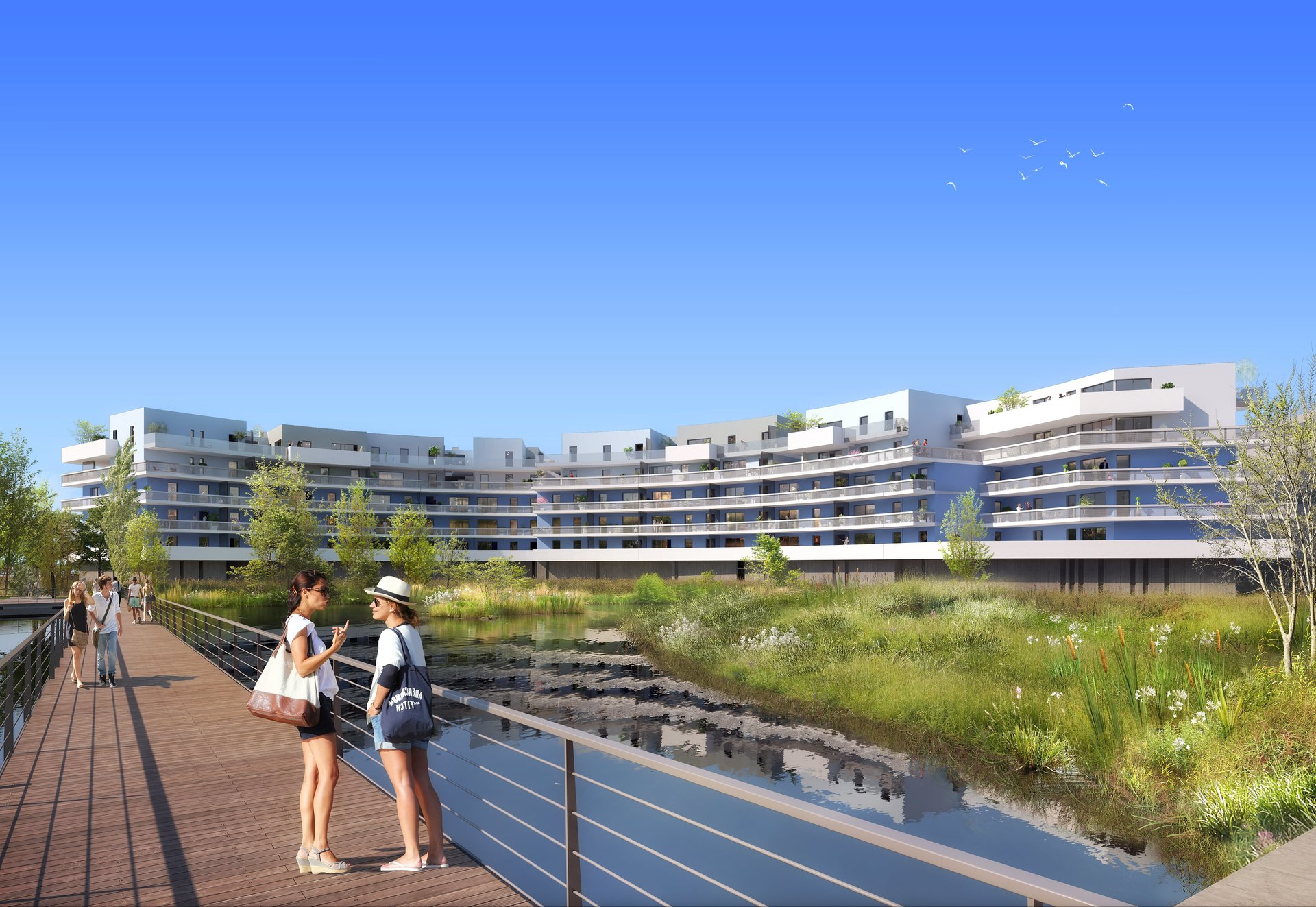 Appartement neuf T2 44 m² CANET-Plage