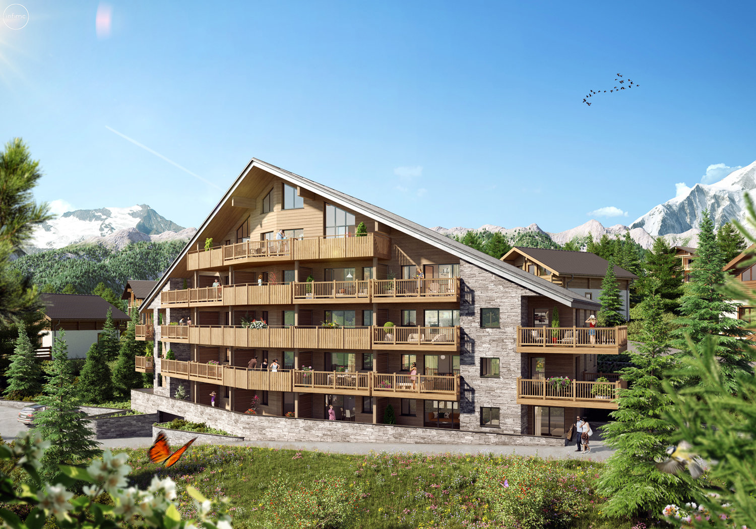 Development Apartment - Auron