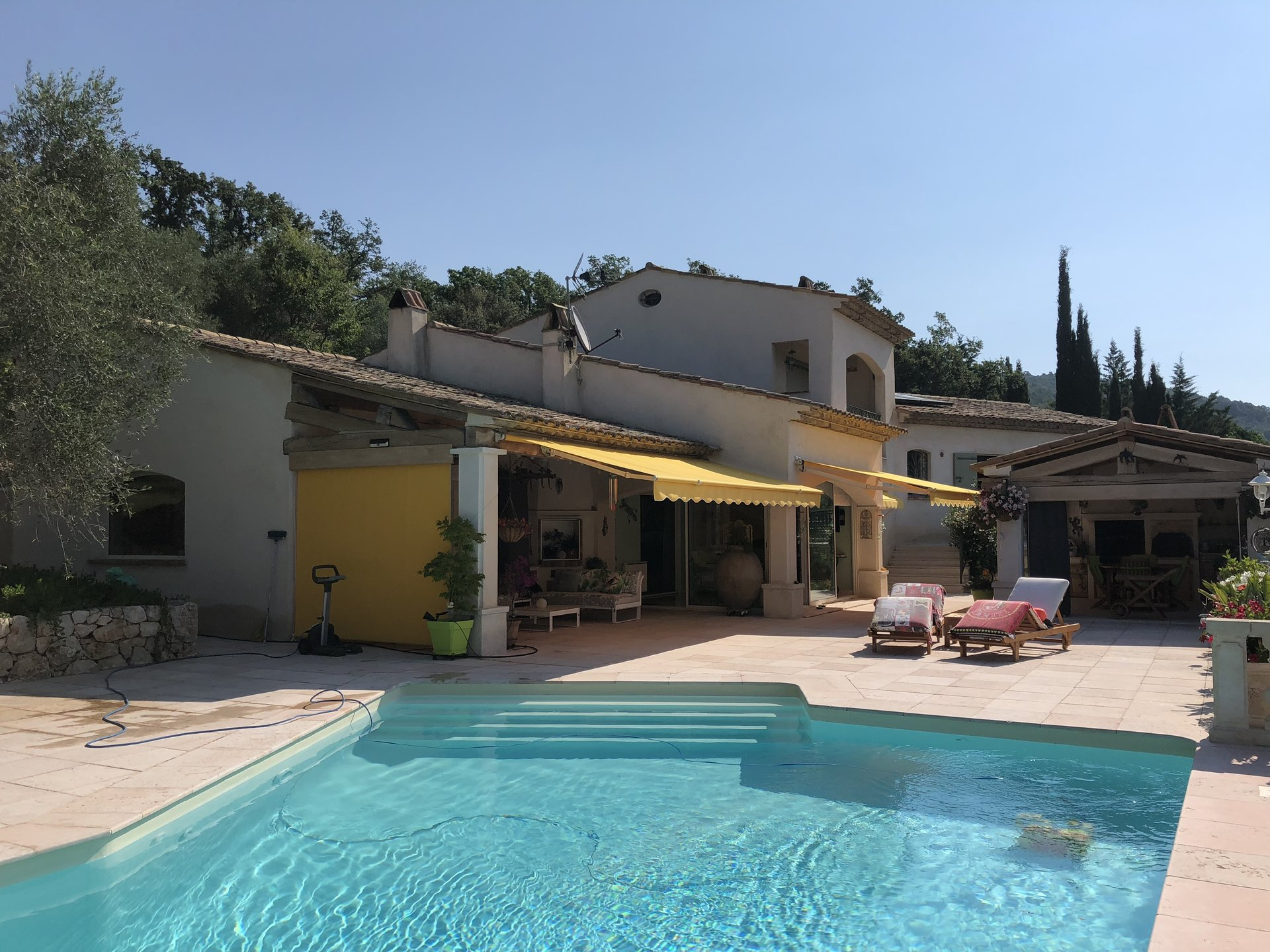 Large luxury villa with amazing panoramic views - SAINT CEZAIRE SUR SIAGNE