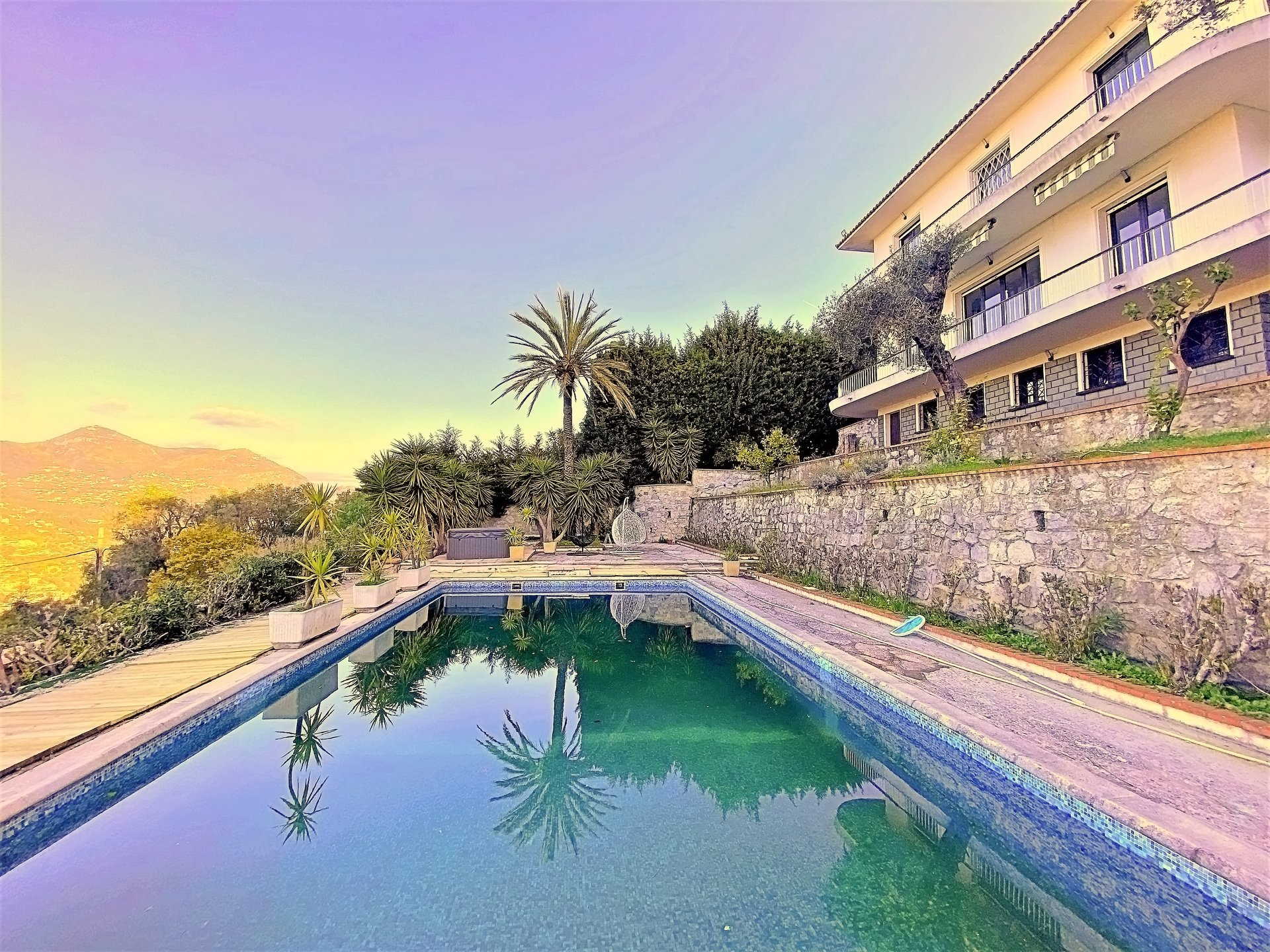 Nice Heights - Charming villa with panoramic view